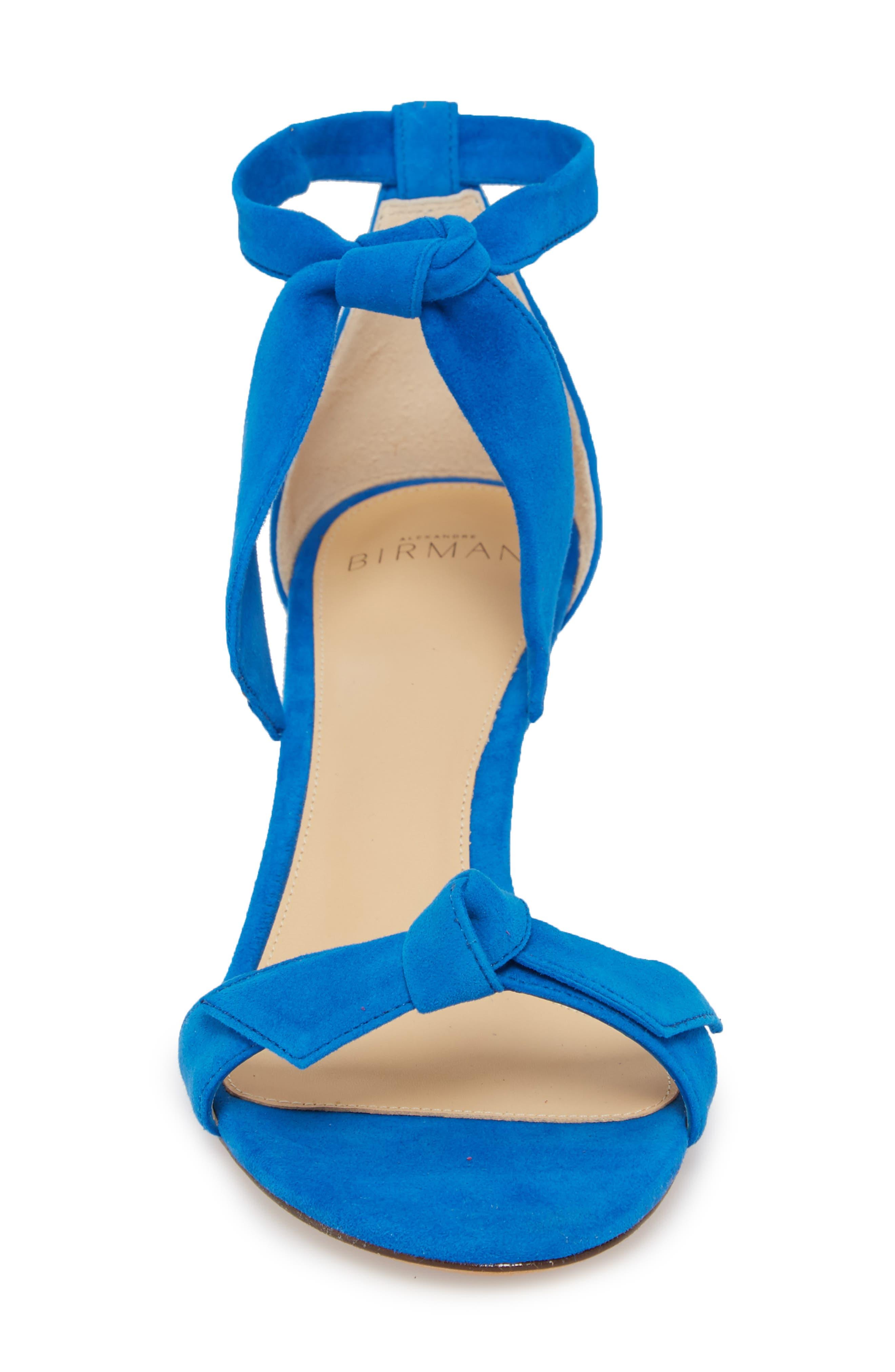 Clarita Knotted Sandal,                             Alternate thumbnail 4, color,                             400