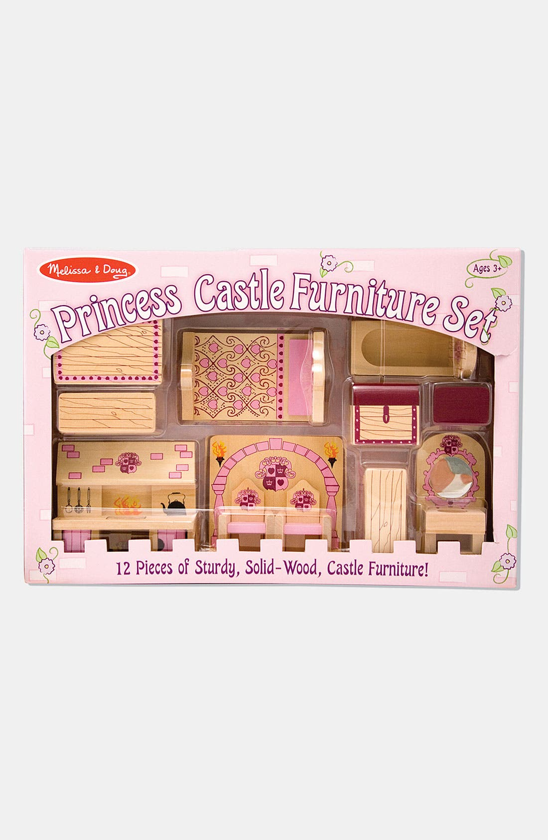 'Princess Castle' Furniture Set,                             Main thumbnail 1, color,                             VARIOUS