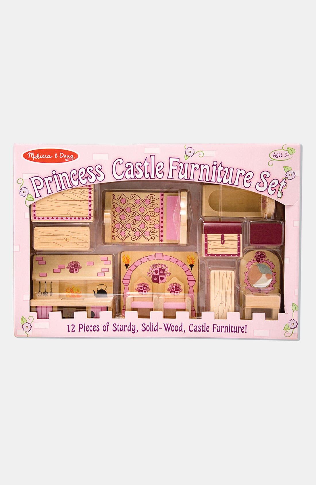 'Princess Castle' Furniture Set,                         Main,                         color, VARIOUS