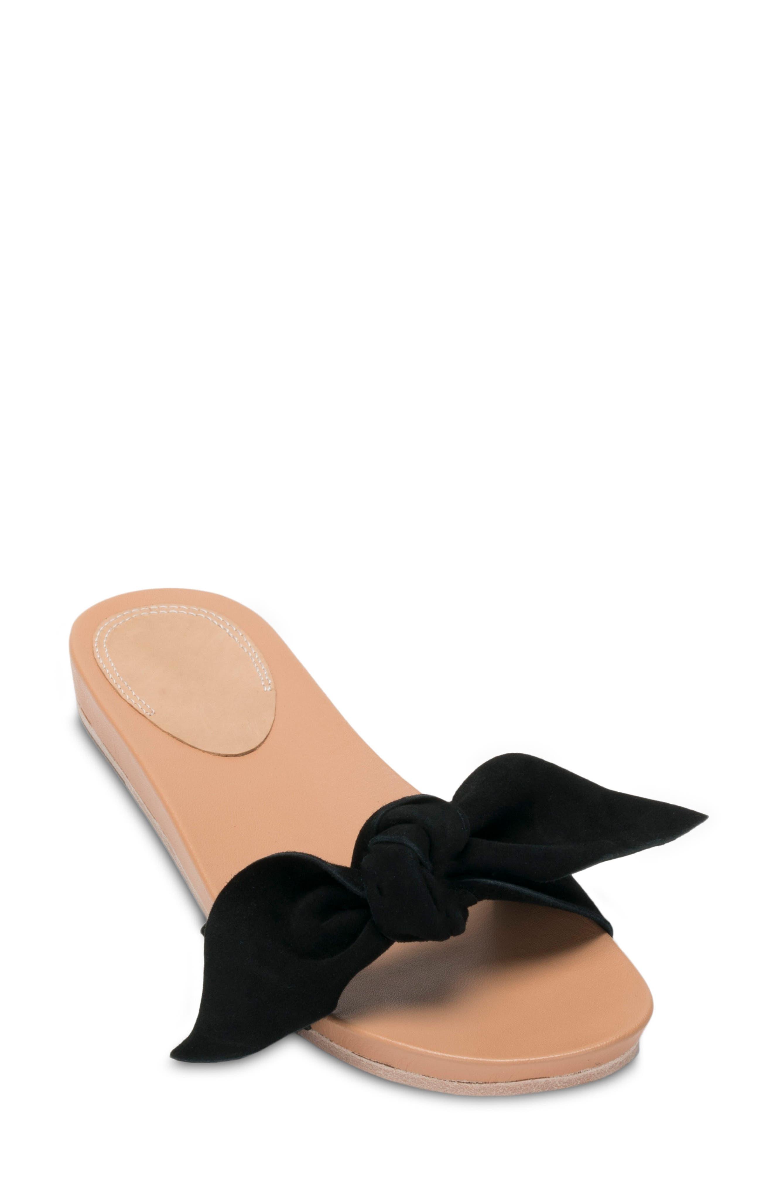 BILL BLASS Carmen Slide Sandal, Main, color, 001
