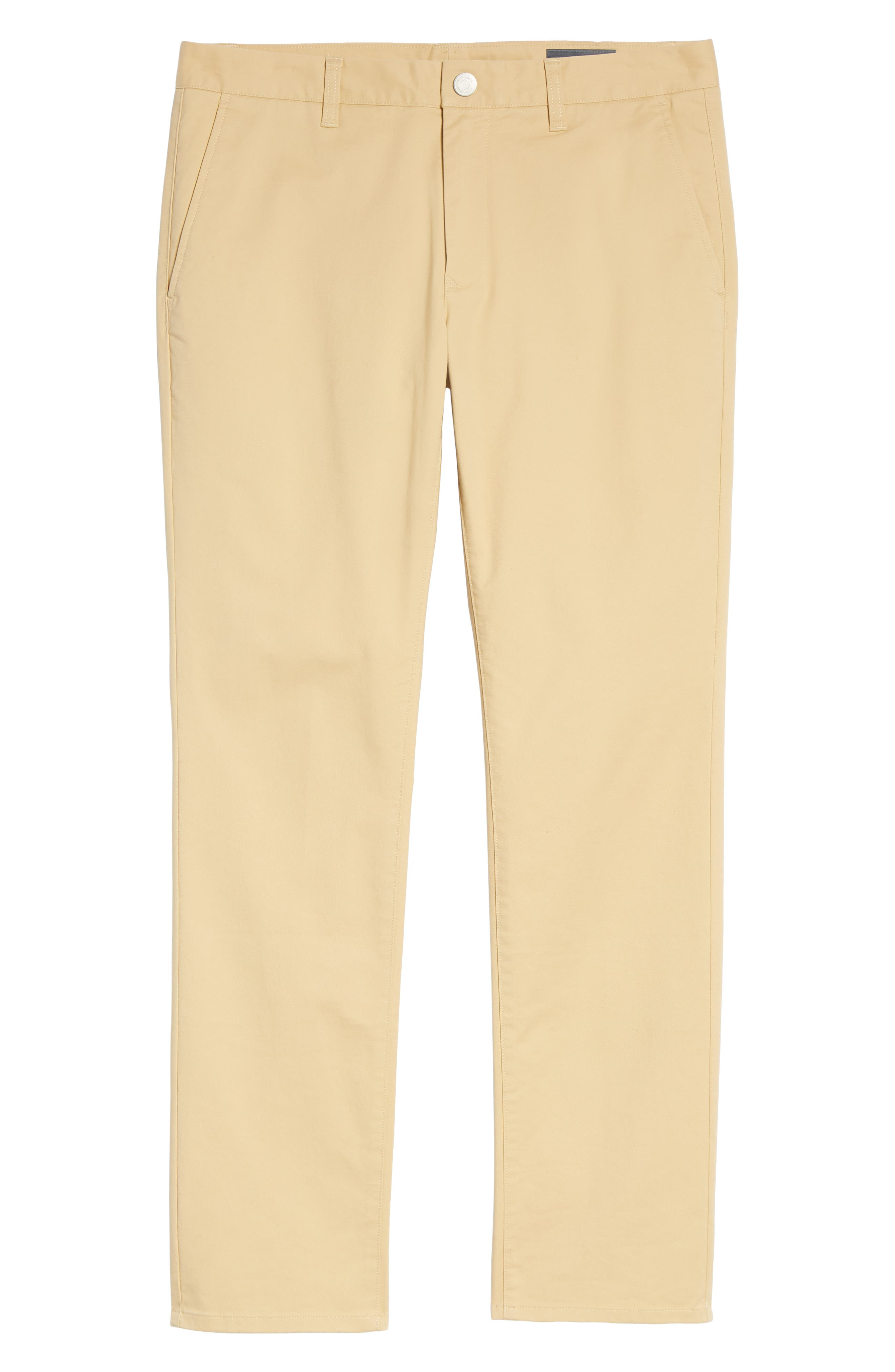 Tailored Fit Washed Stretch Cotton Chinos,                             Alternate thumbnail 180, color,