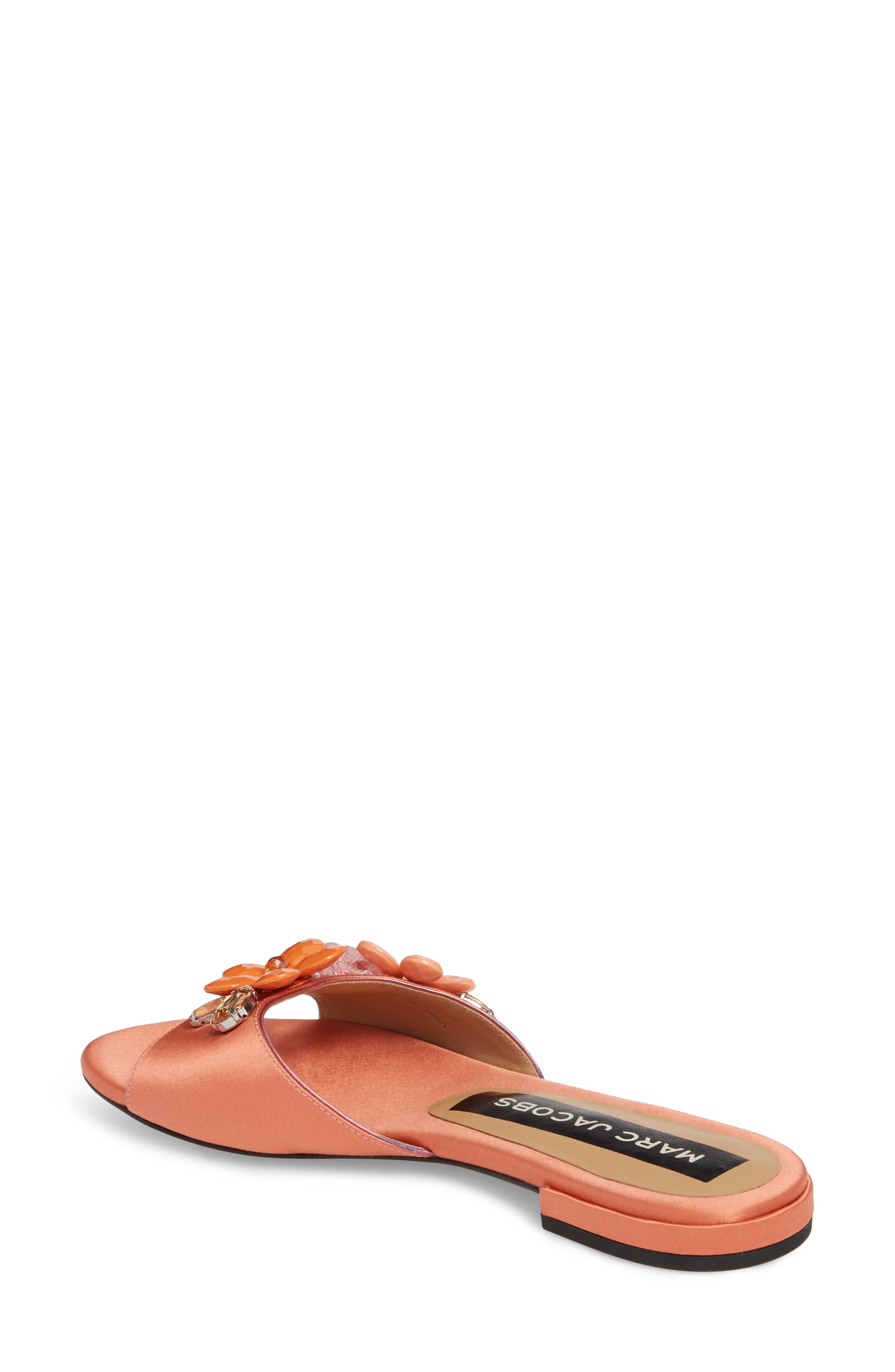 Clara Embellished Slide Sandal,                             Alternate thumbnail 2, color,                             659
