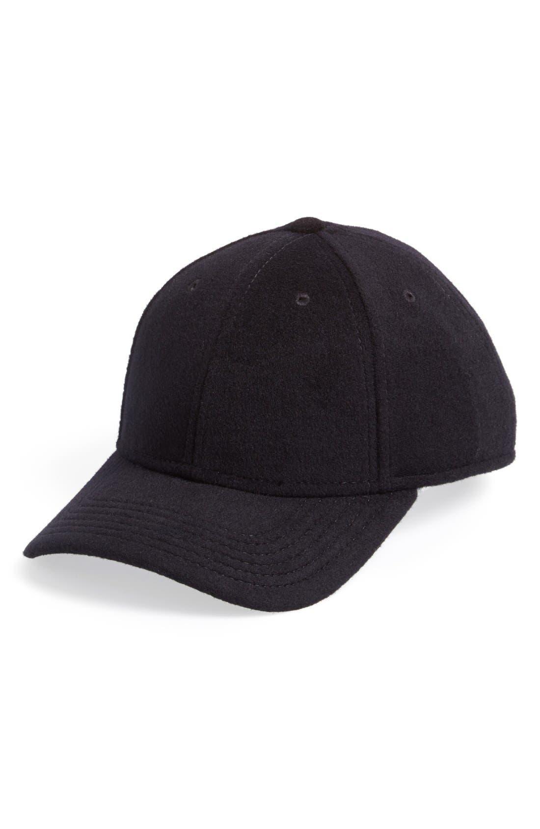 Textured Baseball Cap,                             Main thumbnail 1, color,                             001
