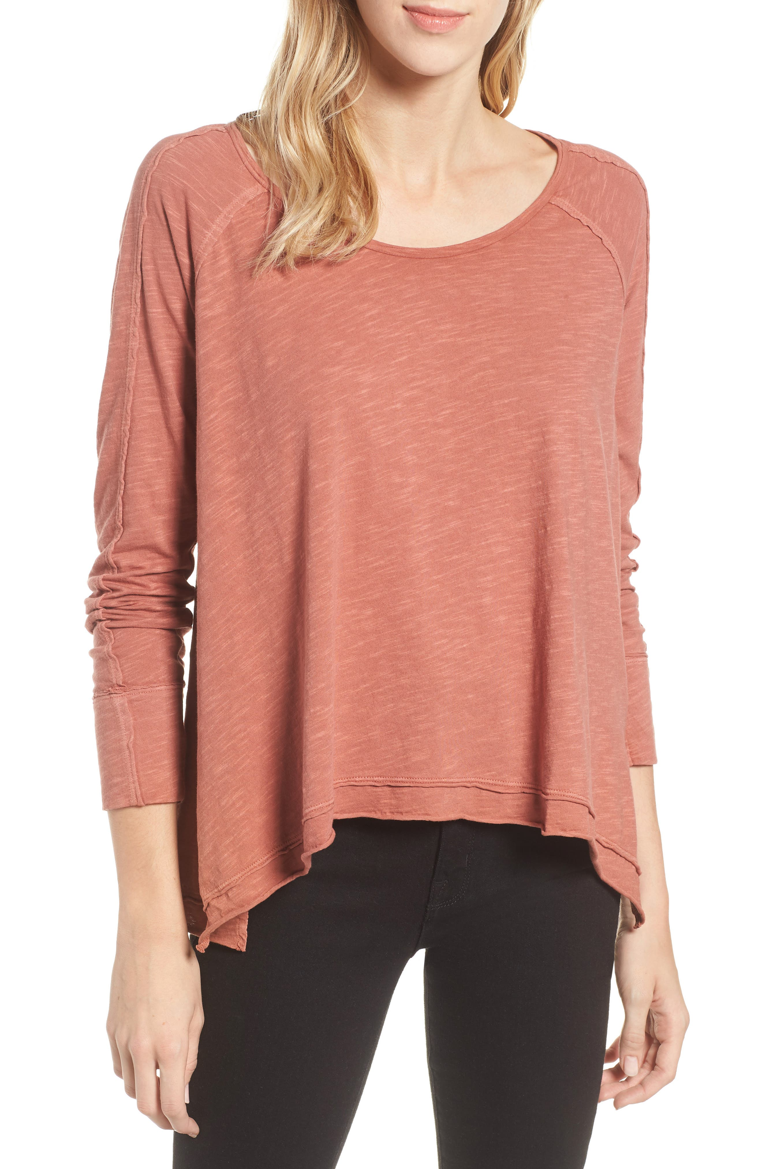 High/Low Tee,                         Main,                         color, 958