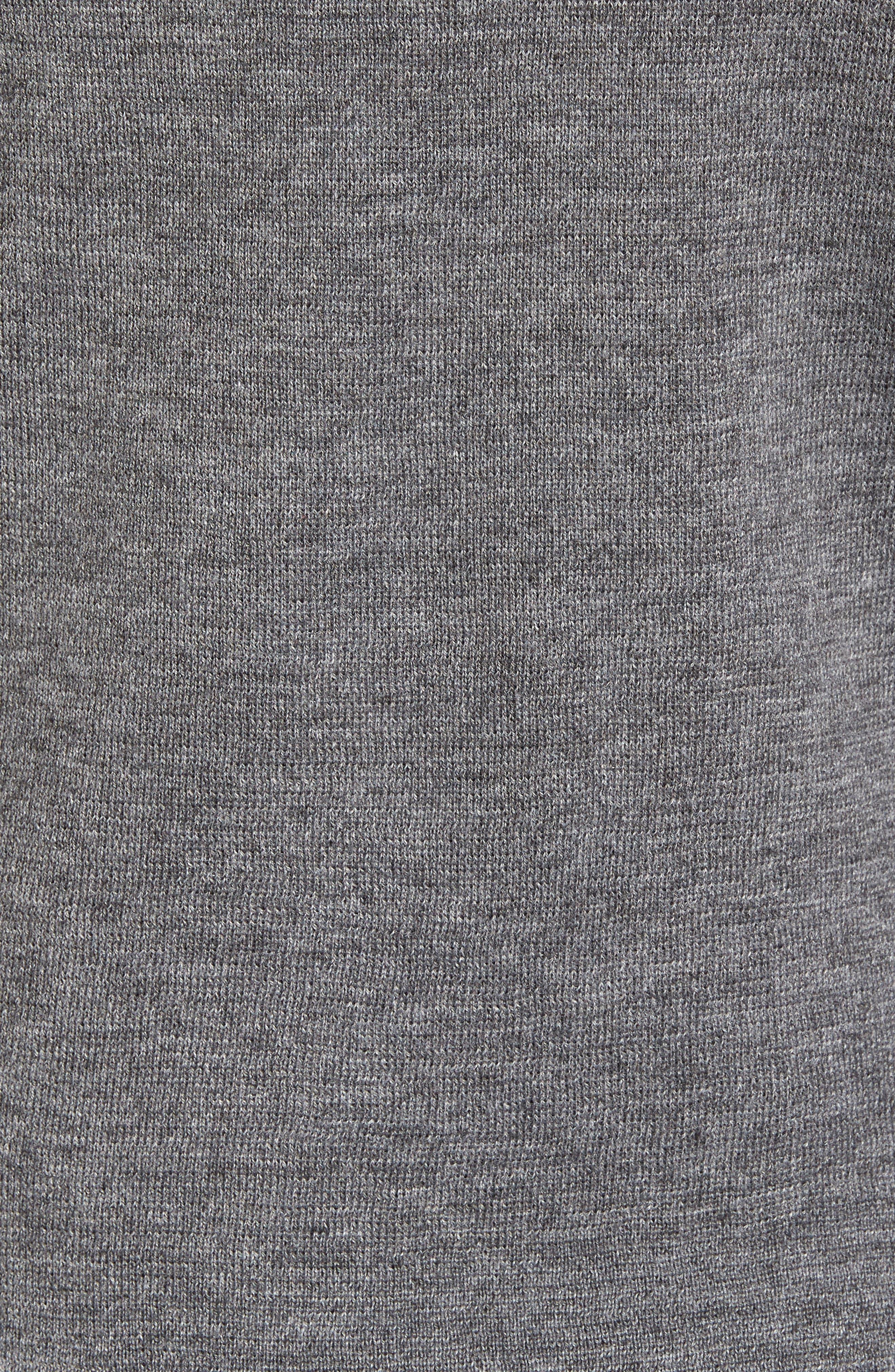 Merino Wool Blend Turtleneck Sweater,                             Alternate thumbnail 3, color,                             020