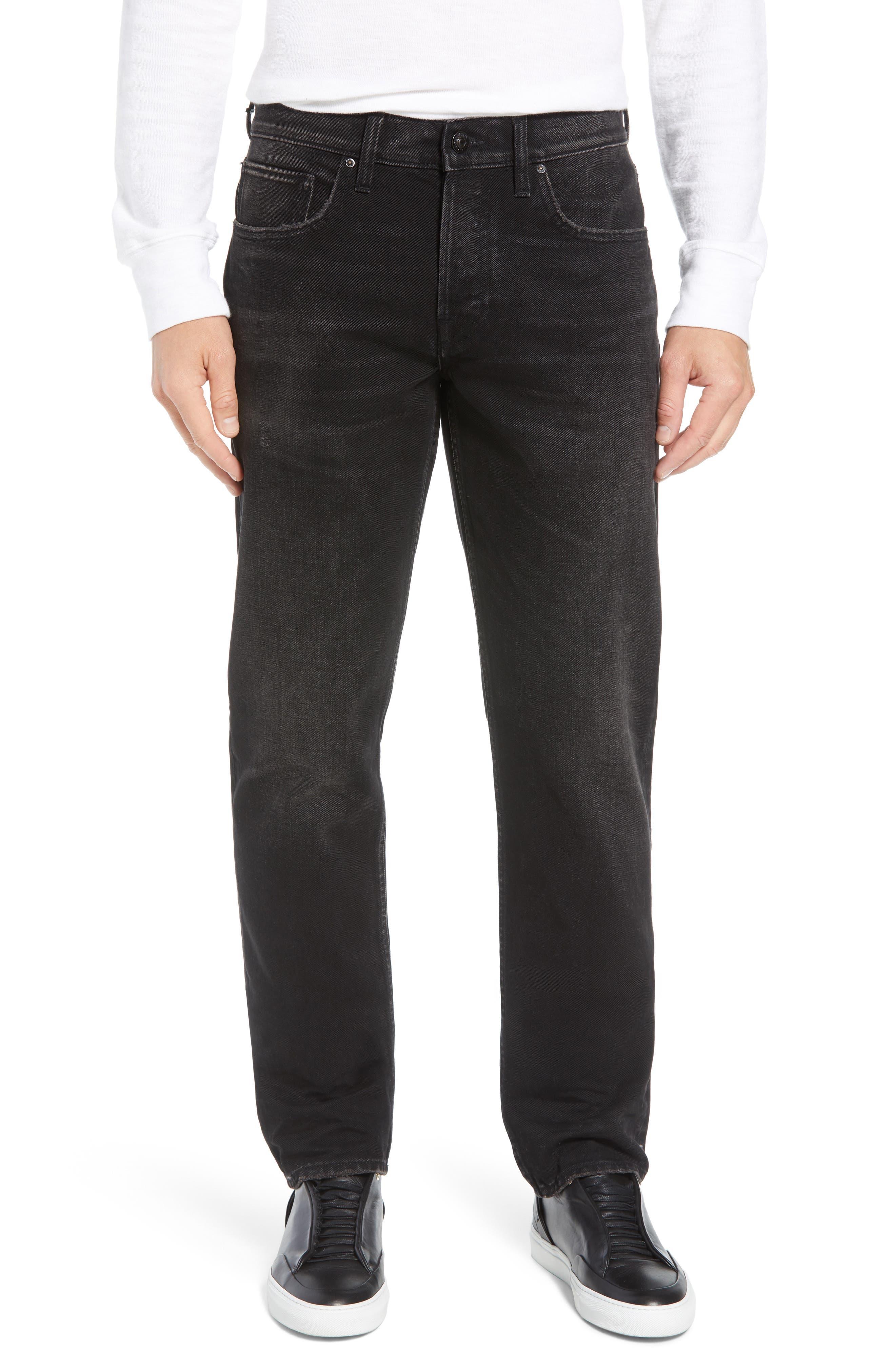 Dillon Straight Leg Jeans, Main, color, 001
