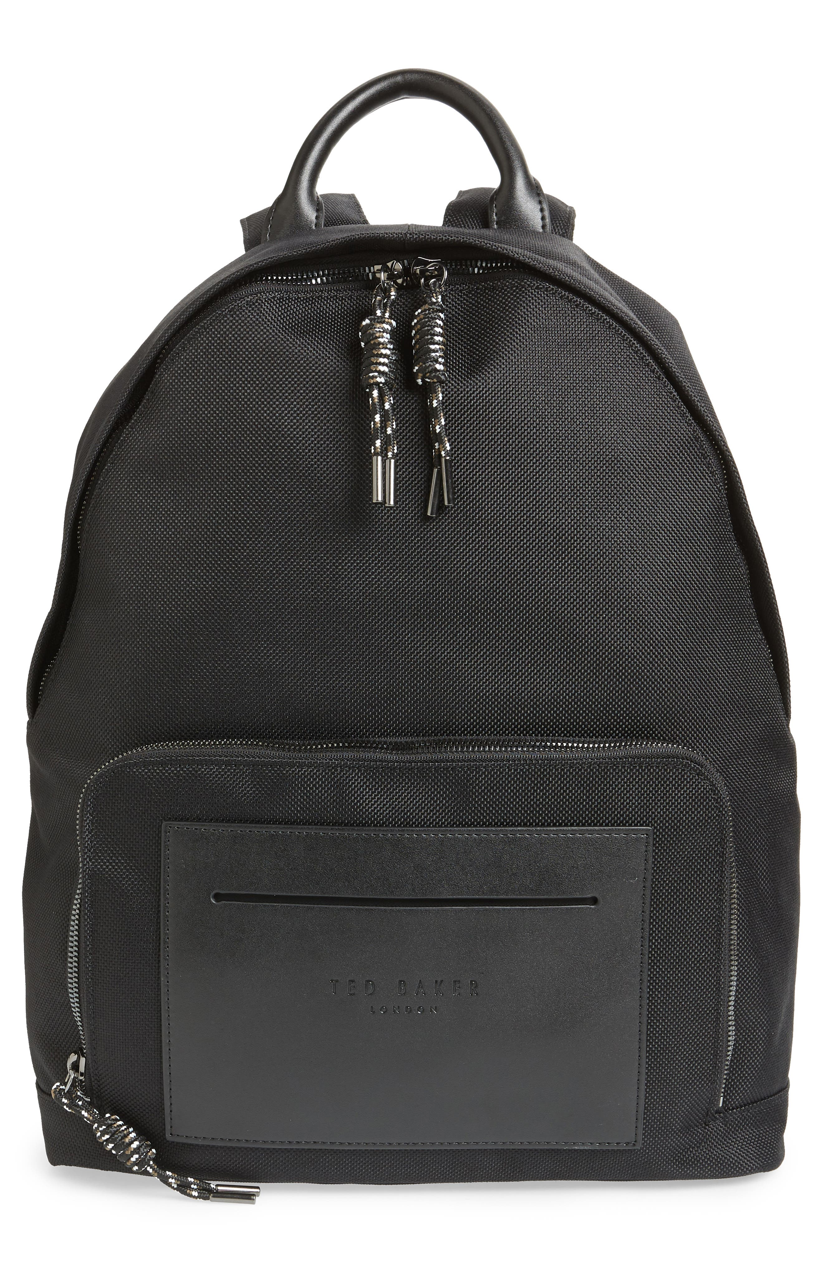 Filer Backpack,                         Main,                         color, BLACK