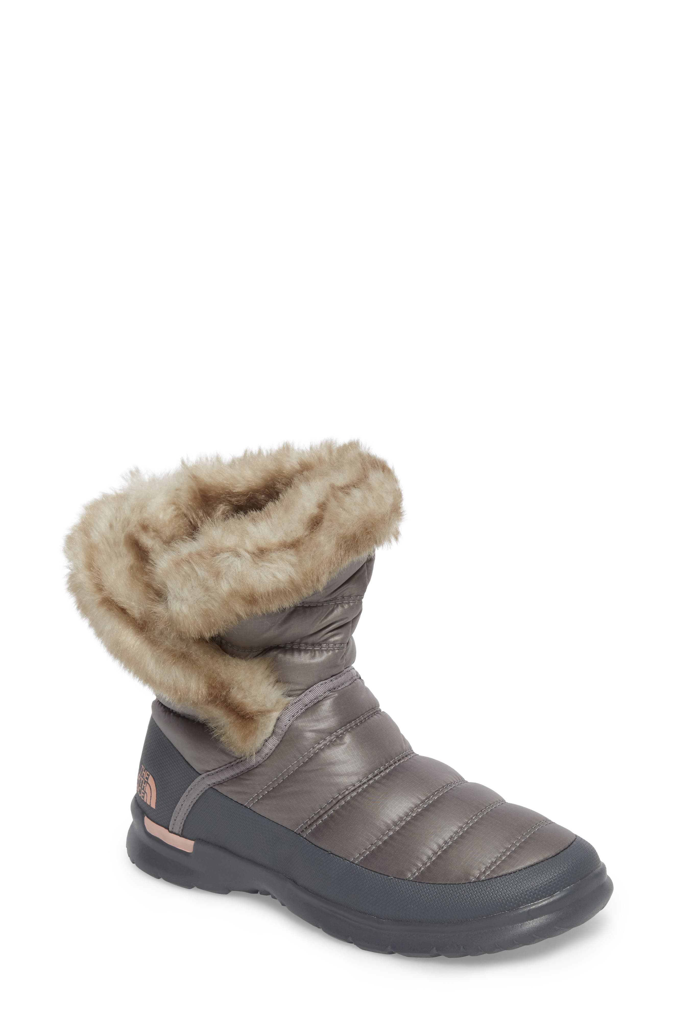 THE NORTH FACE,                             Microbaffle Waterproof ThermoBall<sup>™</sup> Insulated Winter Boot,                             Main thumbnail 1, color,                             021