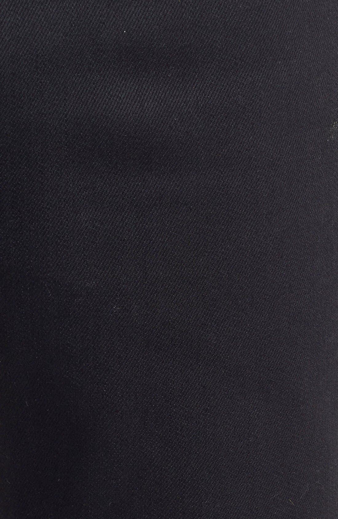 NUDIE JEANS,                             'Grim Tim' Slim Fit Raw Selvedge Jeans,                             Alternate thumbnail 3, color,                             001