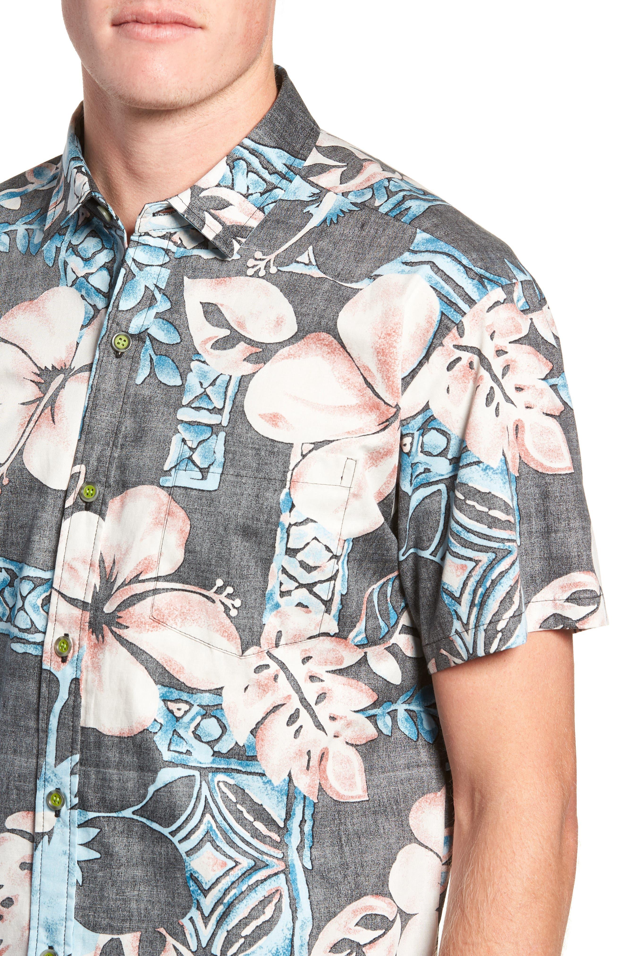 Ahiahi Classic Fit Sport Shirt,                             Alternate thumbnail 2, color,                             BLACK