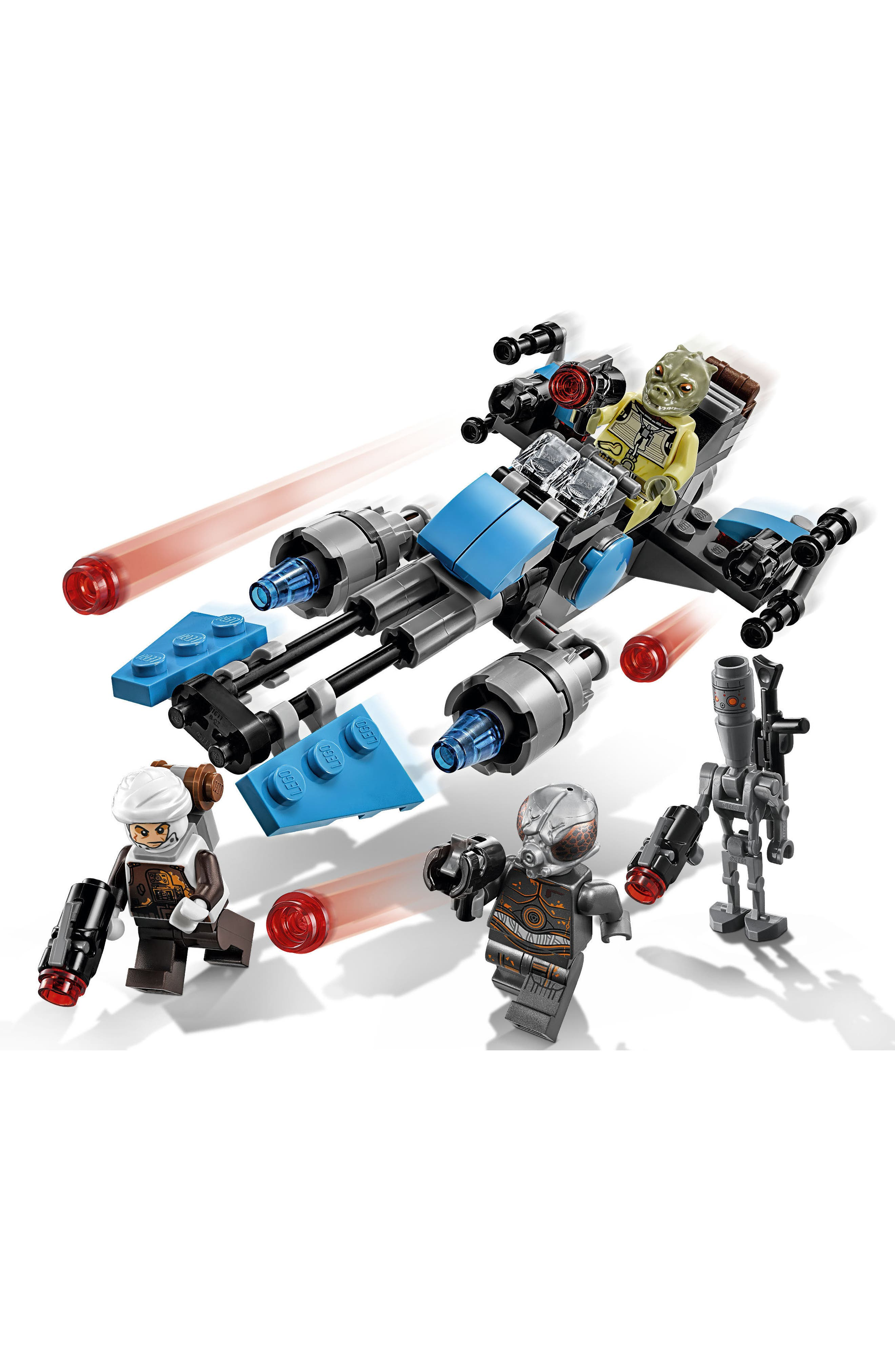 Star Wars<sup>™</sup> Bounty Hunter Speeder Bike<sup>™</sup> Battle Pack - 75167,                             Alternate thumbnail 4, color,