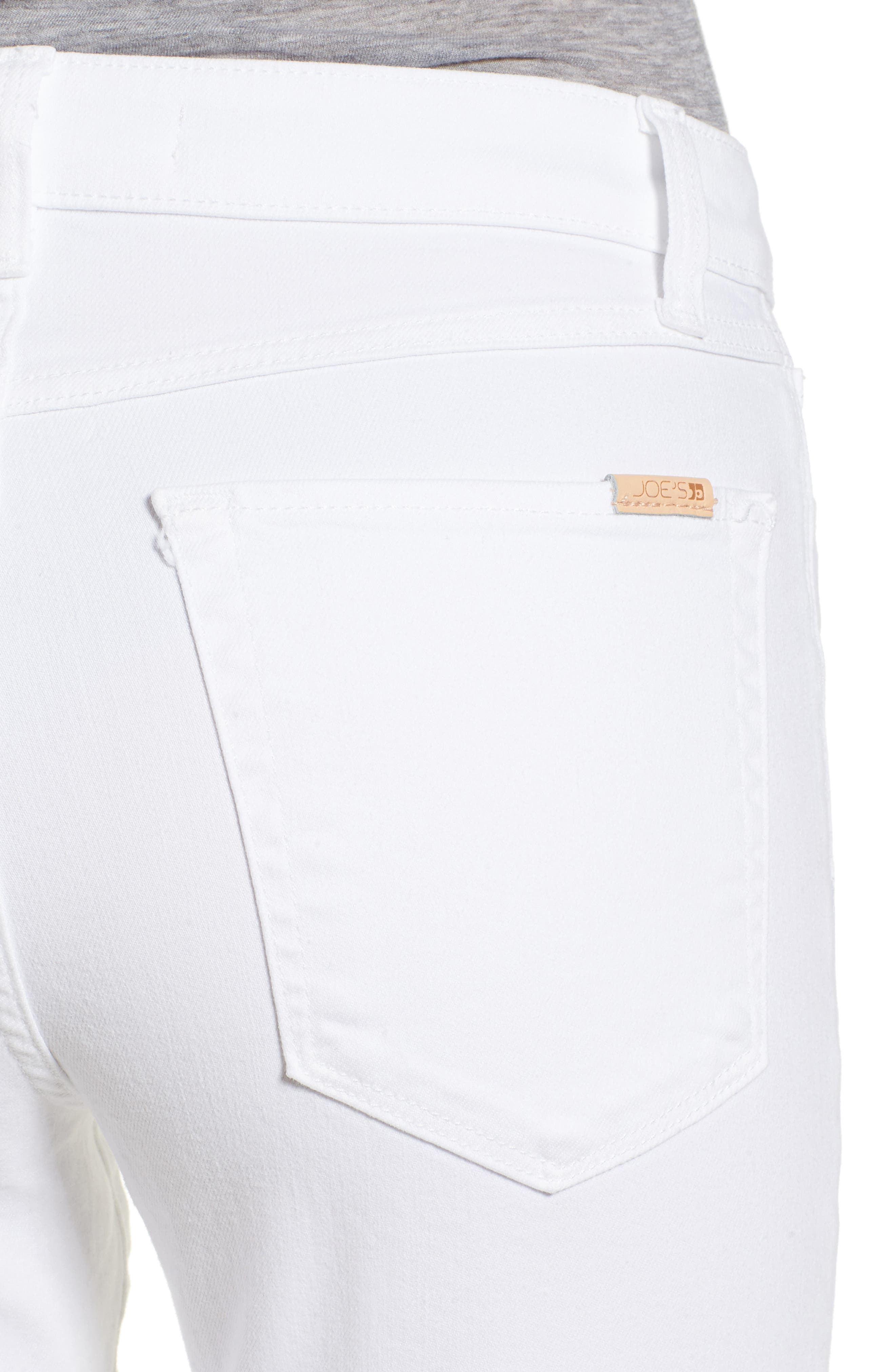 Charlie Skinny Jeans,                             Alternate thumbnail 4, color,                             HENNIE