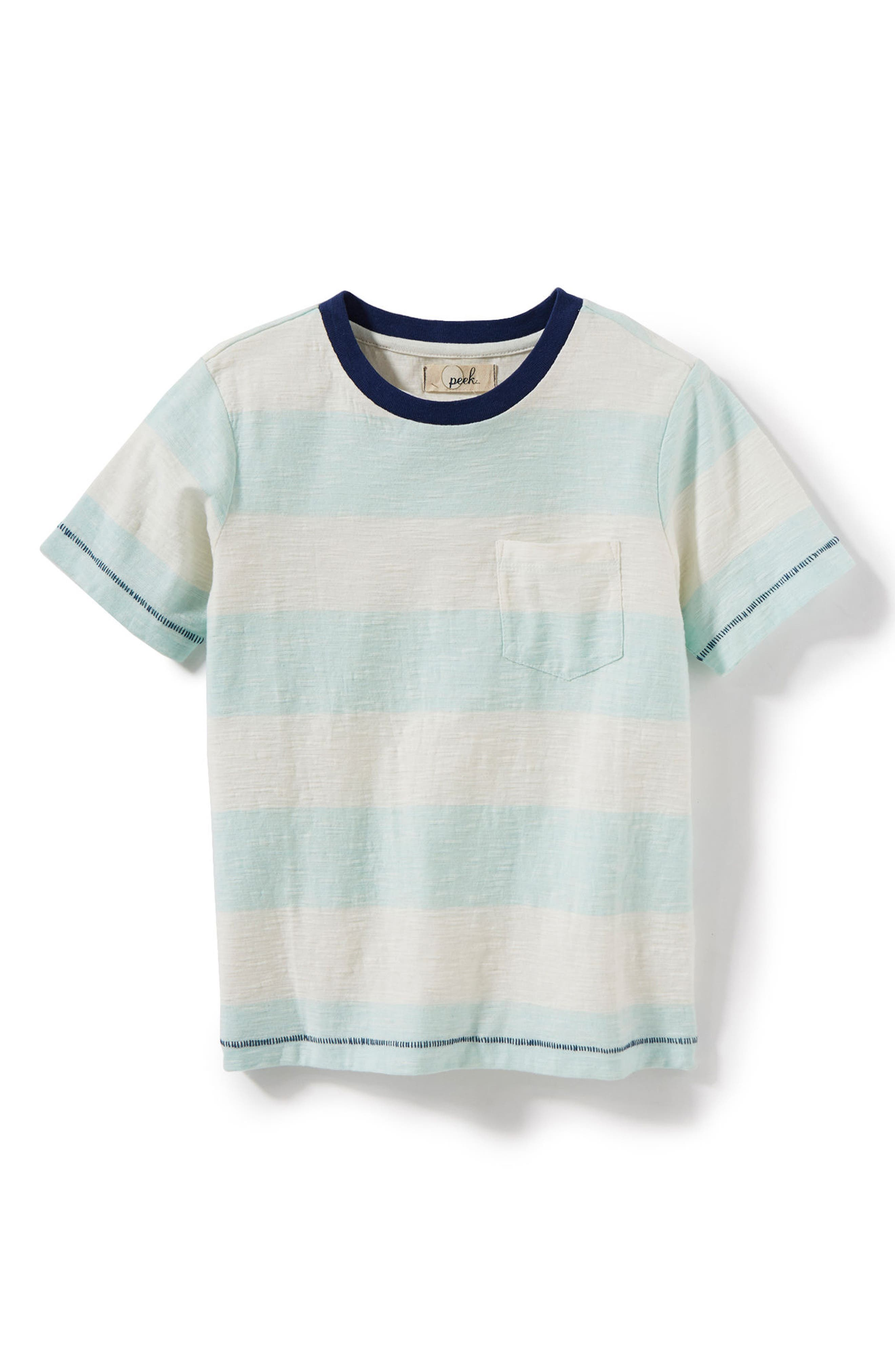 Rugby Stripe T-Shirt,                             Main thumbnail 1, color,                             452