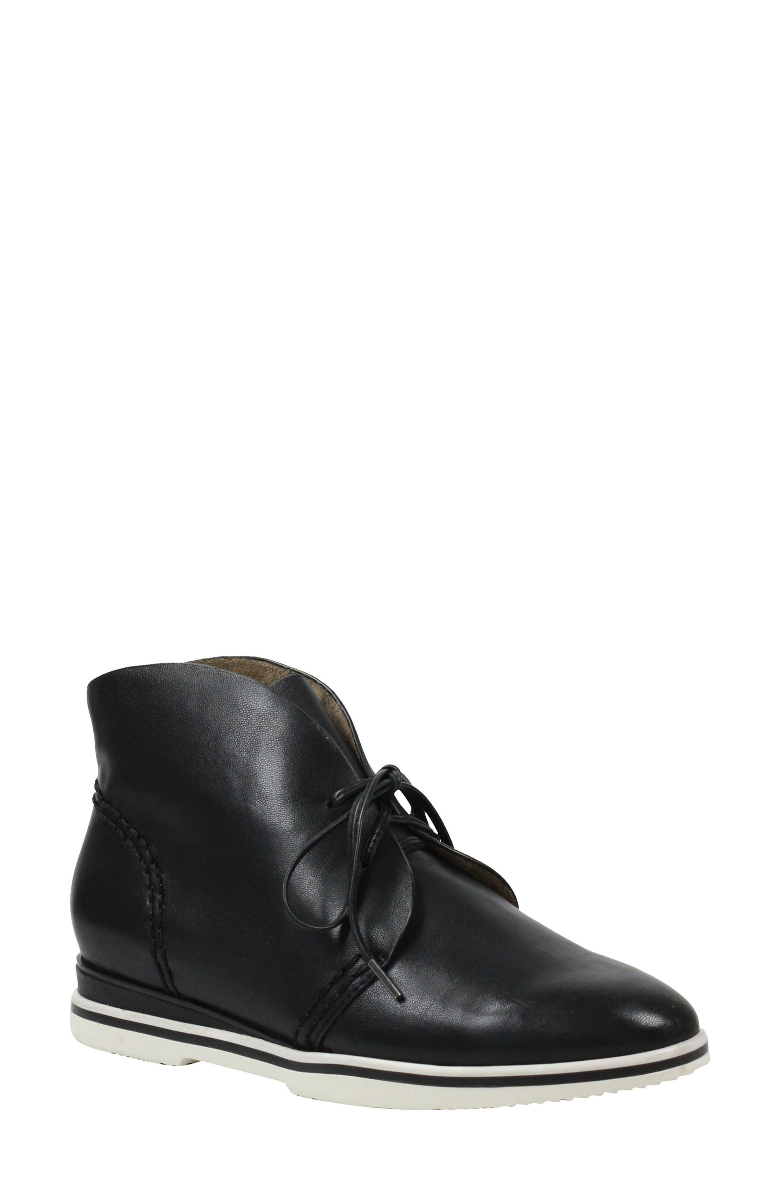 Addalla Chukka Boot, Main, color, BLACK LEATHER