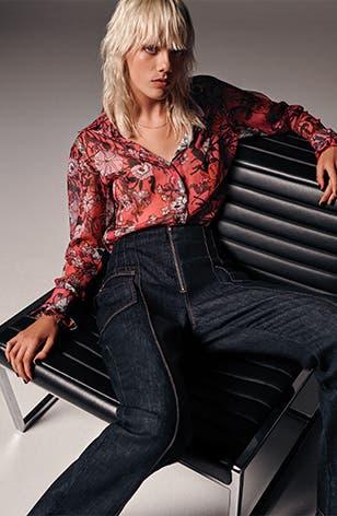 Topshop Idol Autumn/Winter 2019: women's clothing.