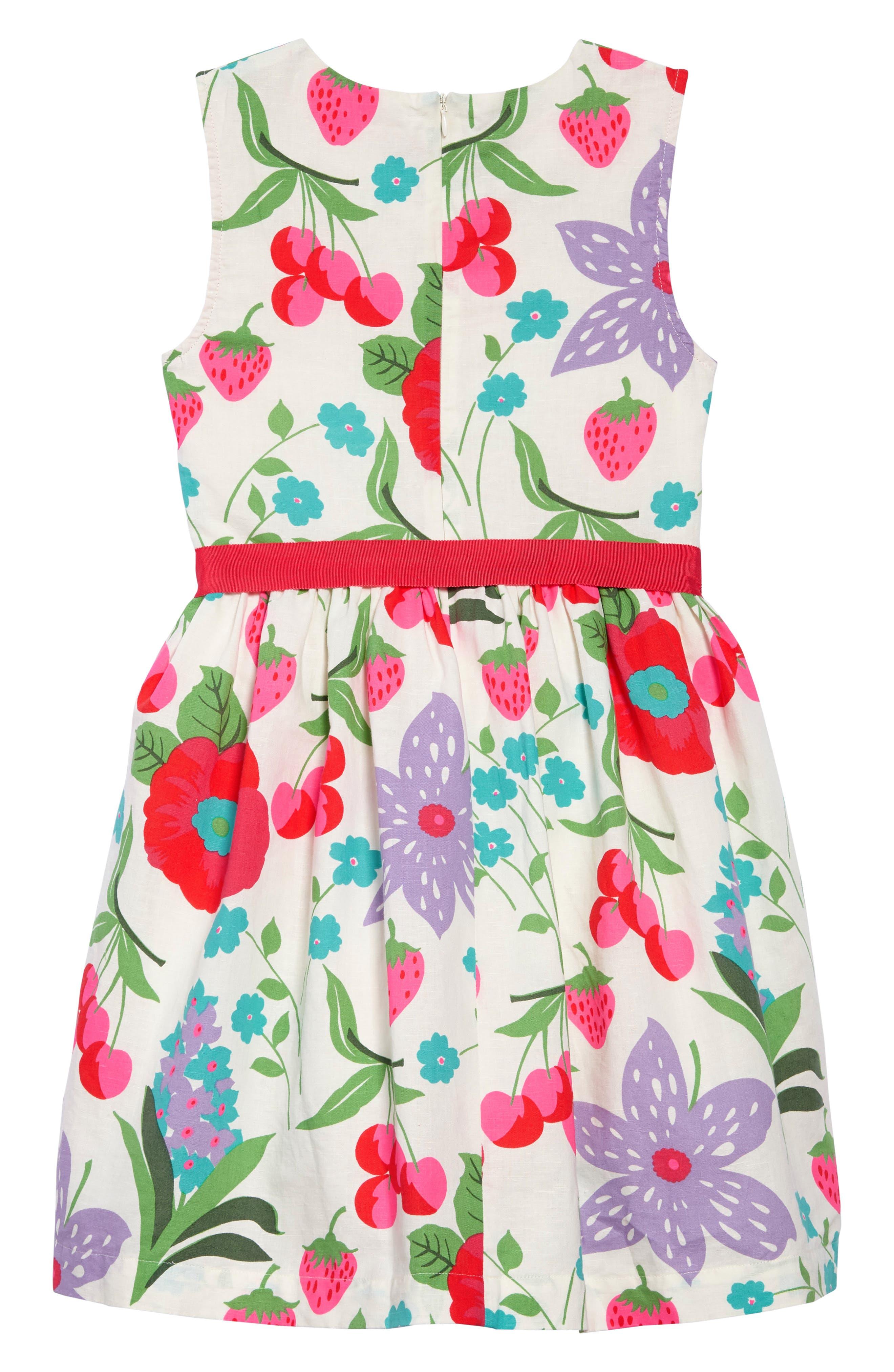 Vintage Linen & Cotton Dress,                             Alternate thumbnail 2, color,                             909