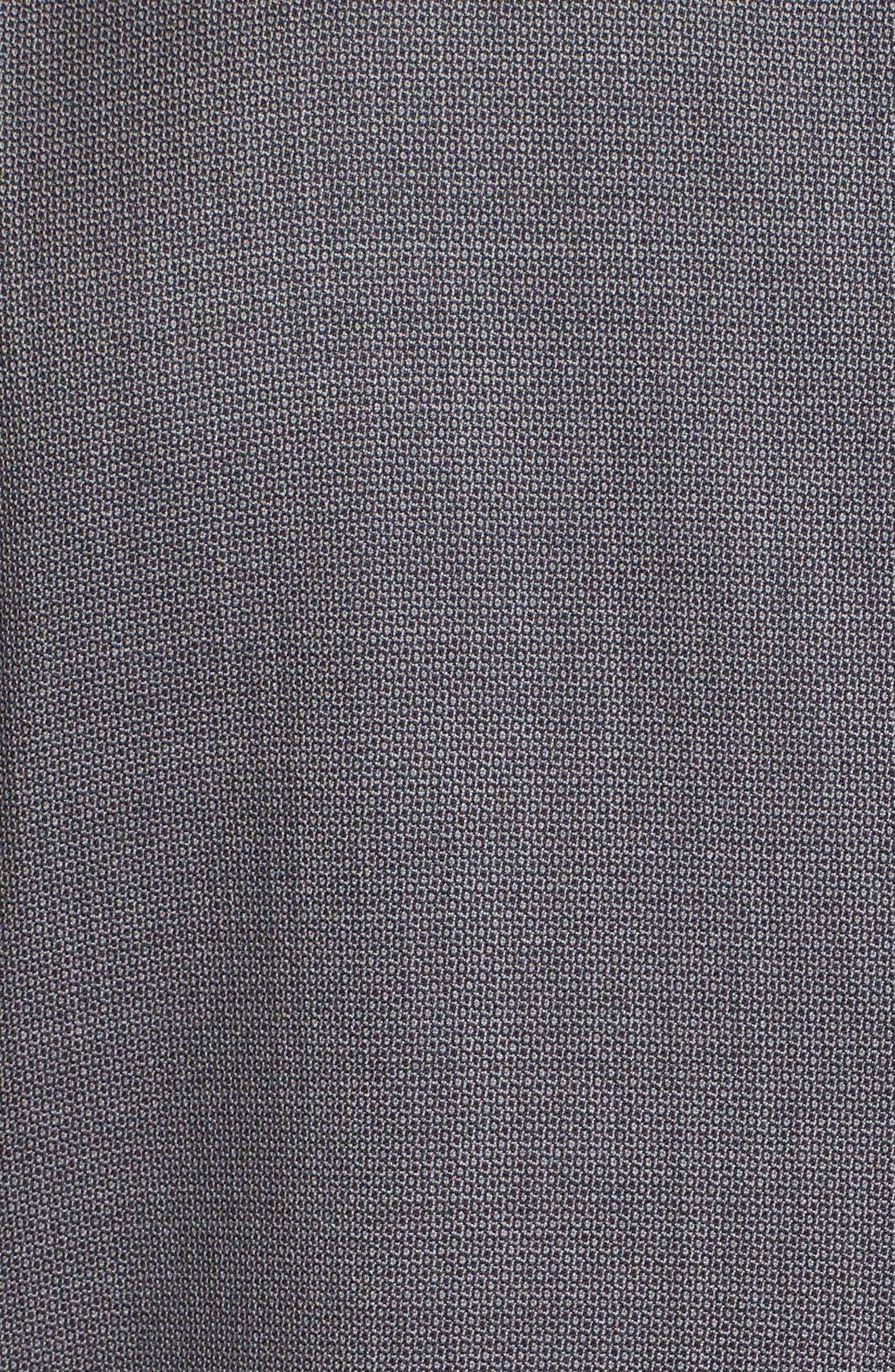 Kyle Trim Fit Solid Wool Suit,                             Alternate thumbnail 7, color,                             020