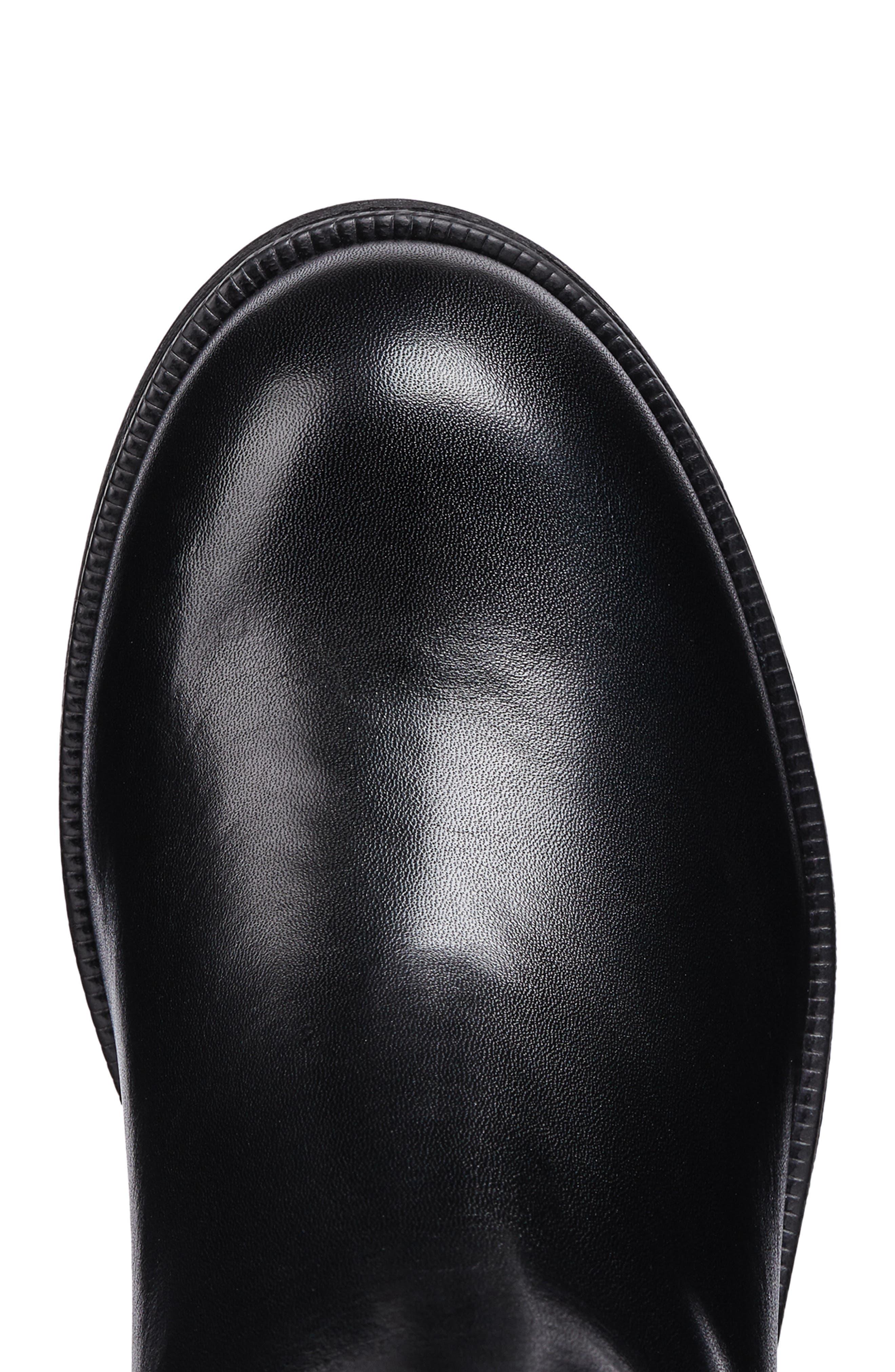 Jr Agata Boot,                             Alternate thumbnail 5, color,                             BLACK