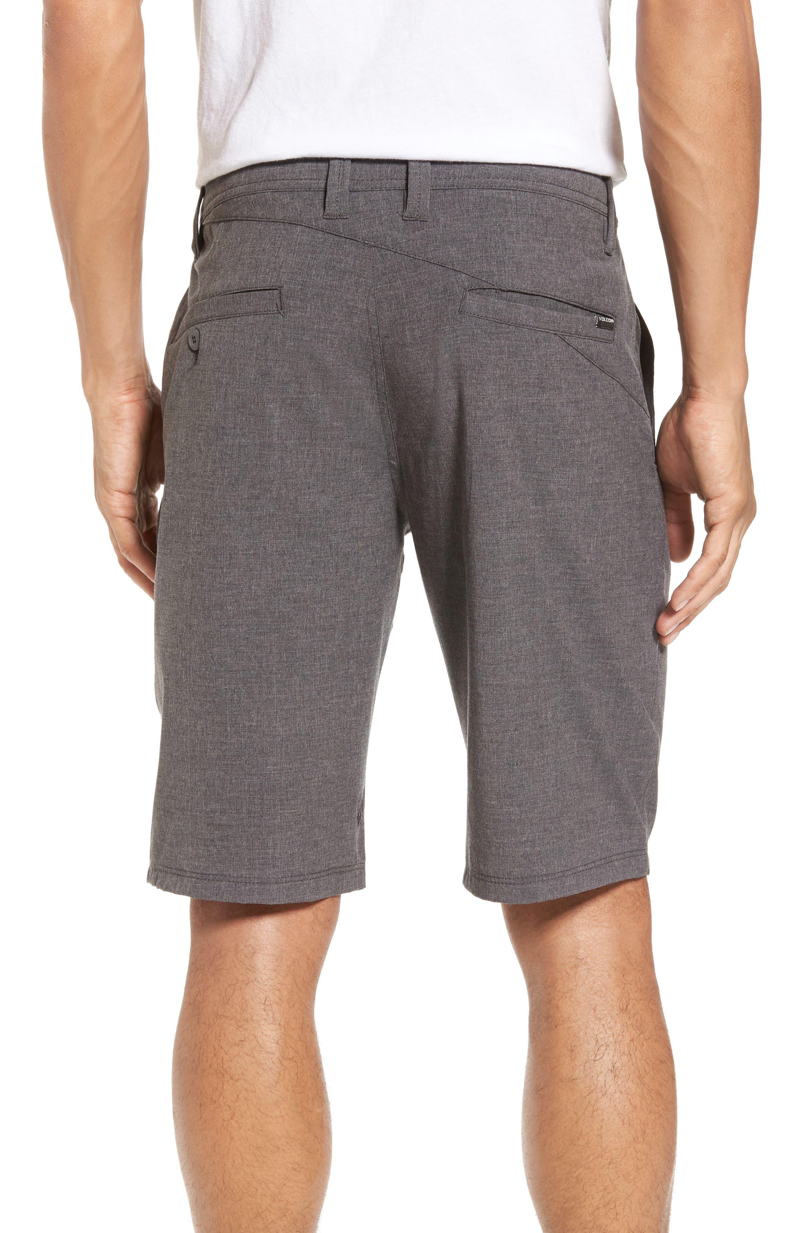 Hybrid Shorts,                             Alternate thumbnail 2, color,                             CHARCOAL