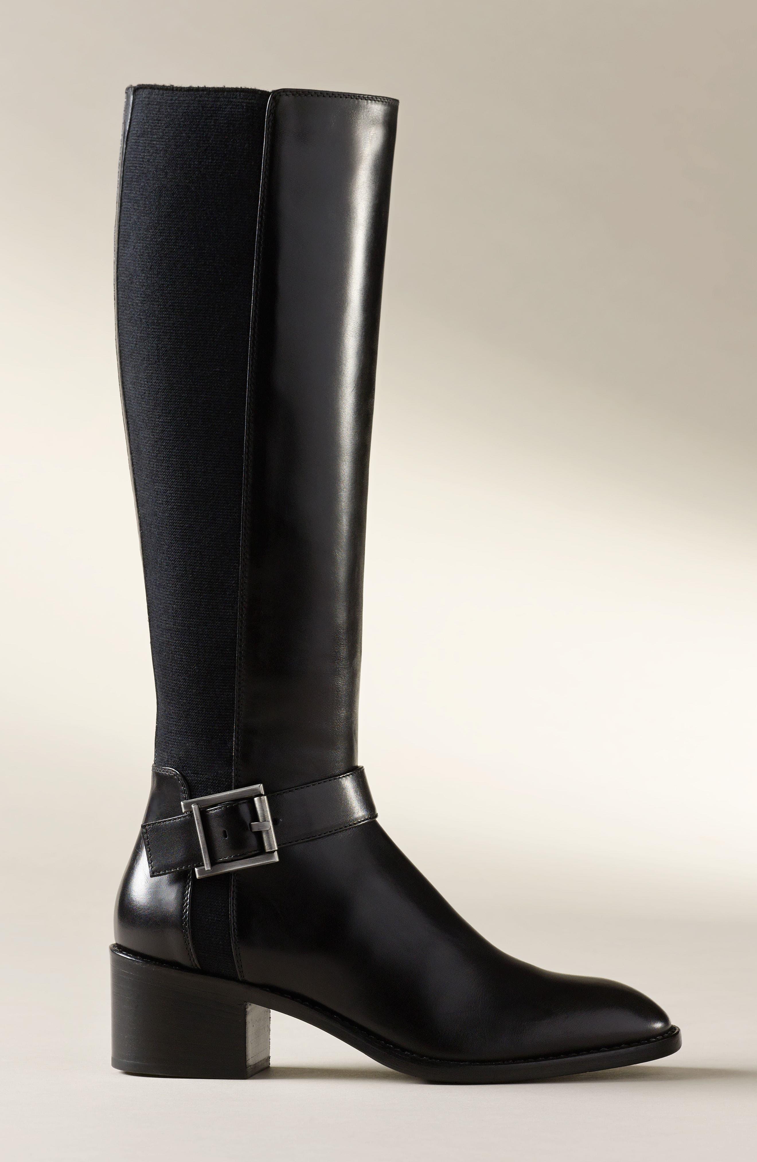 Joanna Weatherproof Tall Boot,                             Alternate thumbnail 7, color,                             001