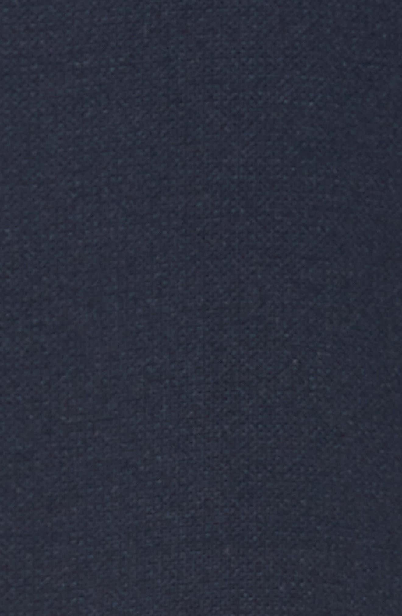 Colorblock Slim Fit Bomber Jacket,                             Alternate thumbnail 6, color,                             NAVY/ BLACK