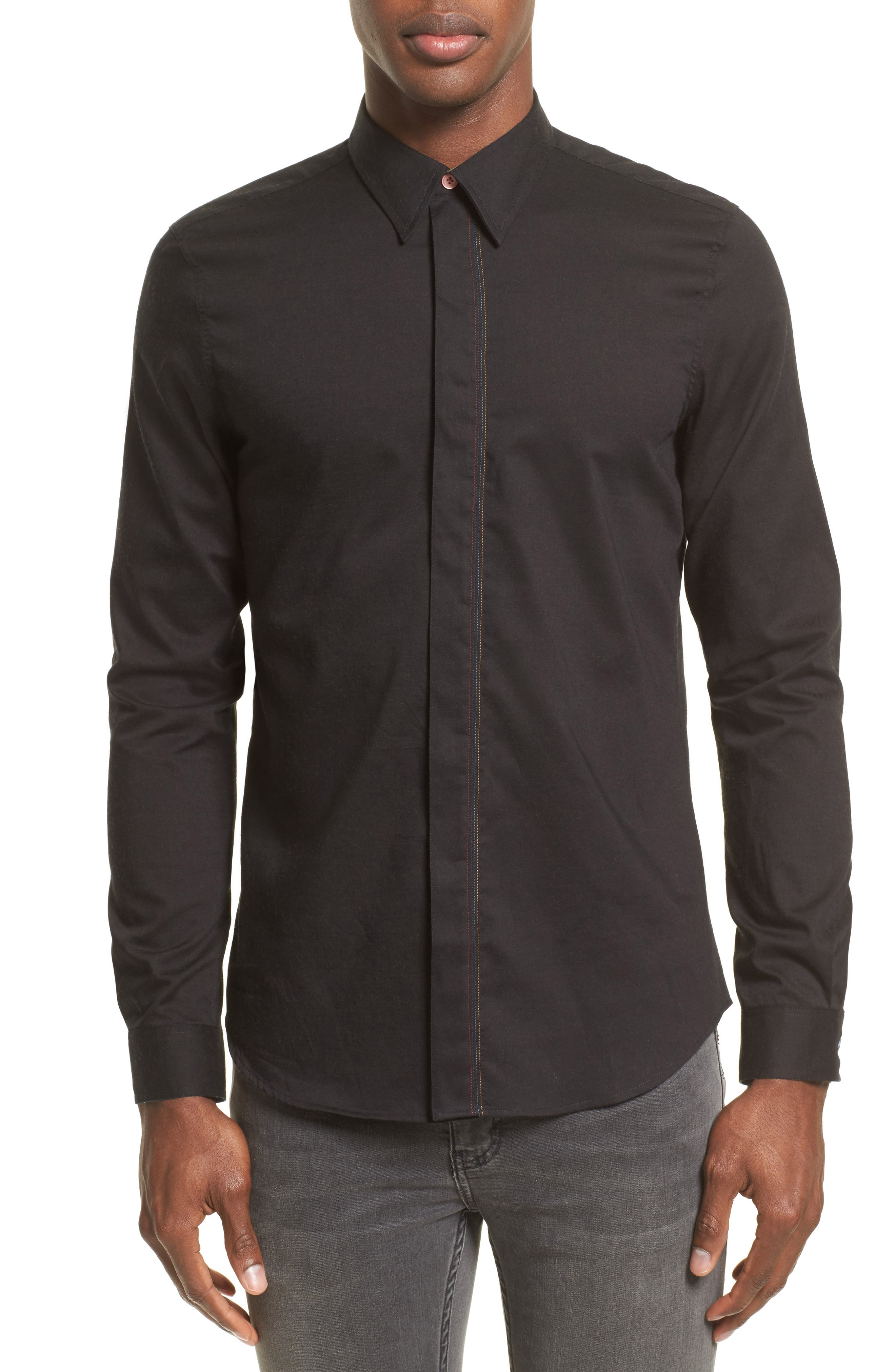 Embroidered Sport Shirt,                         Main,                         color,
