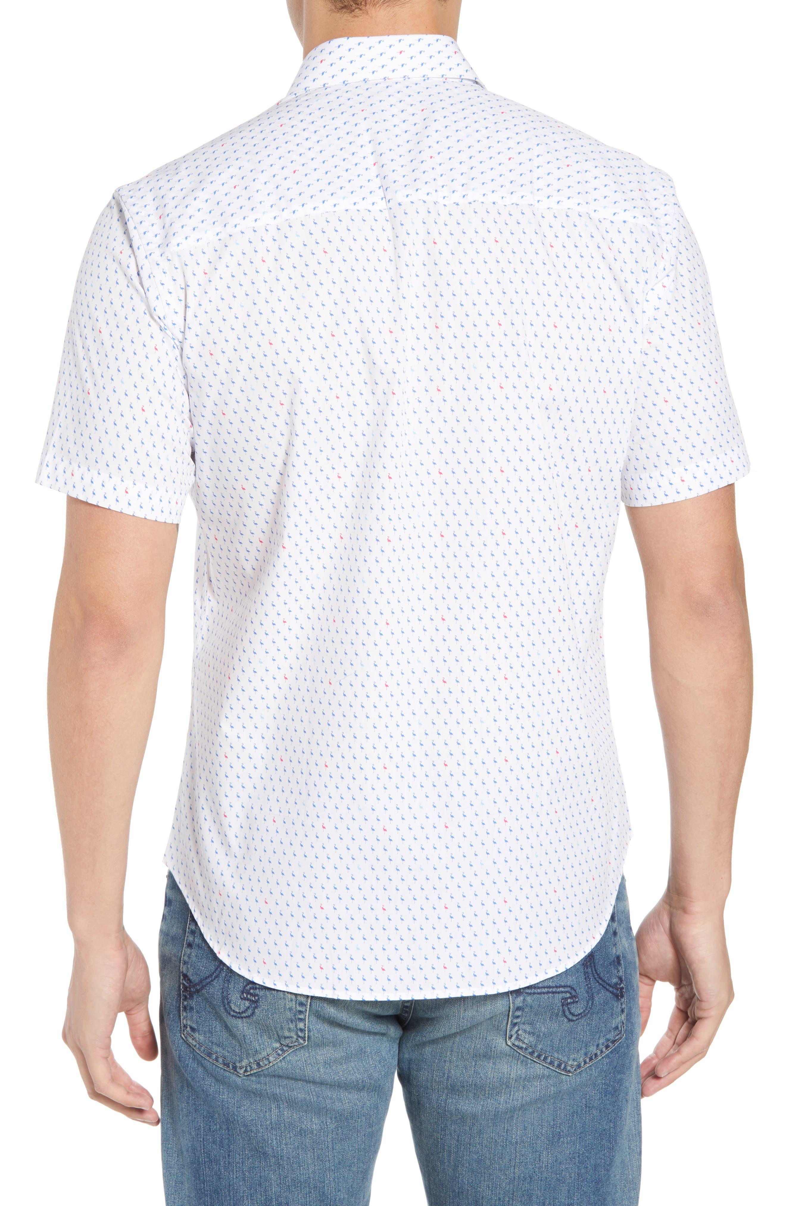 Arrie Regular Fit Print Sport Shirt,                             Alternate thumbnail 2, color,                             490