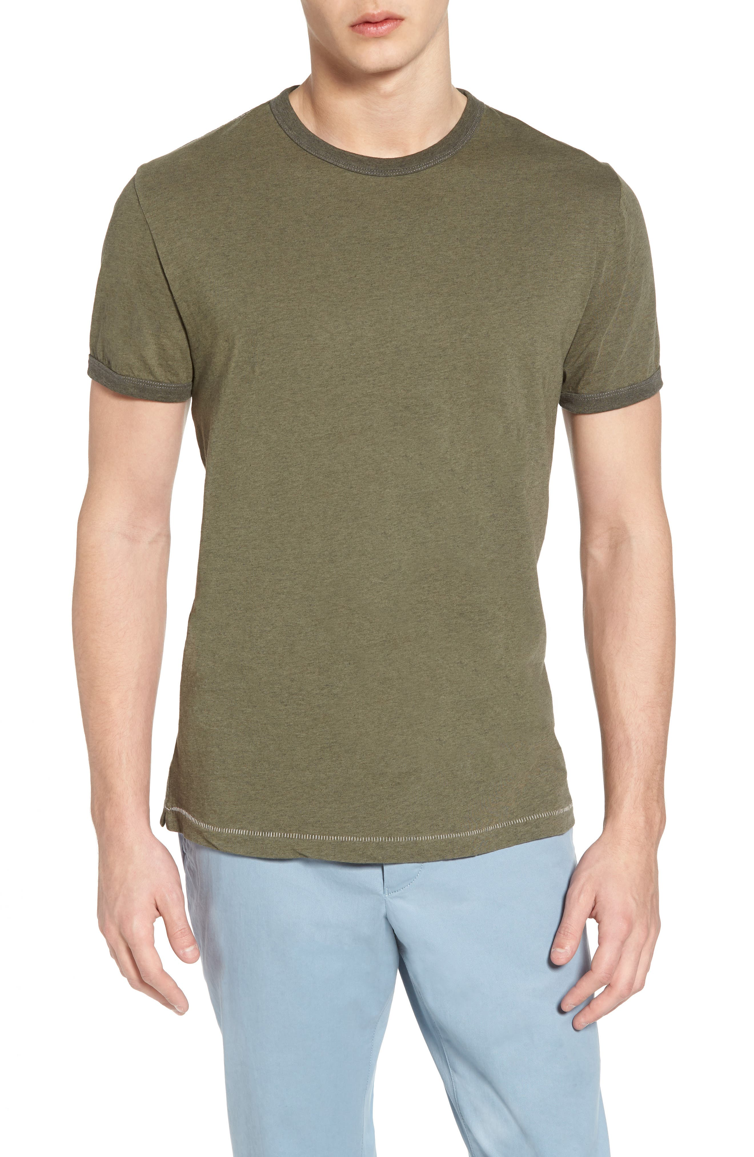 Bens Slim Fit Ringer T-Shirt,                             Main thumbnail 2, color,