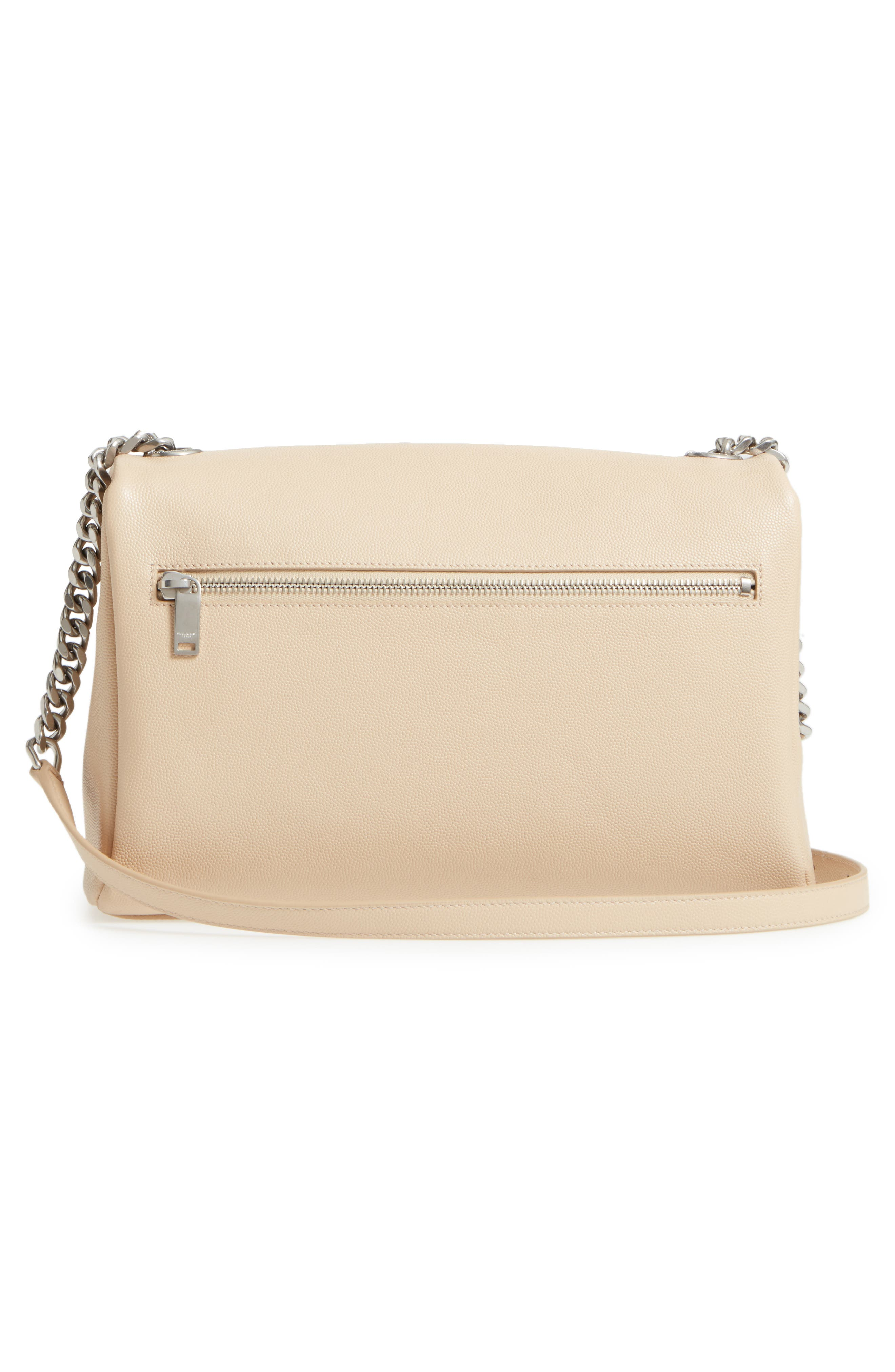 Medium West Hollywood Leather Shoulder Bag,                             Alternate thumbnail 9, color,