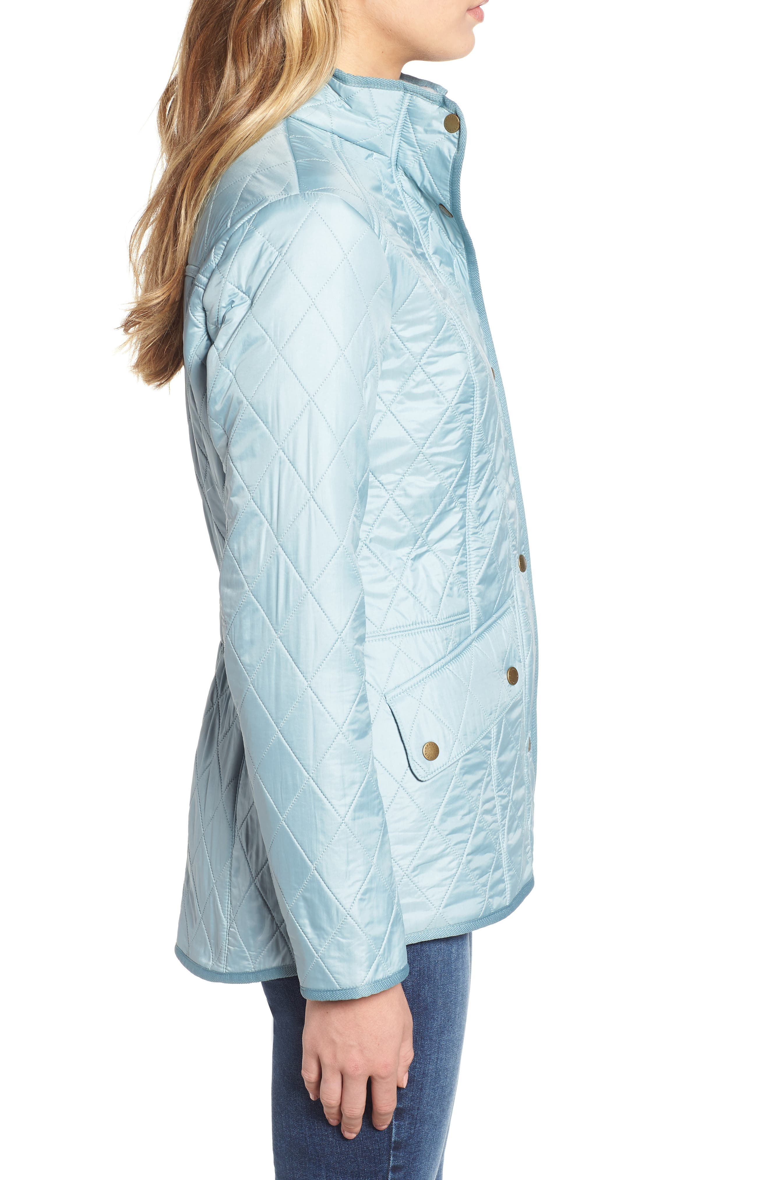 'Cavalry' Quilted Jacket,                             Alternate thumbnail 29, color,