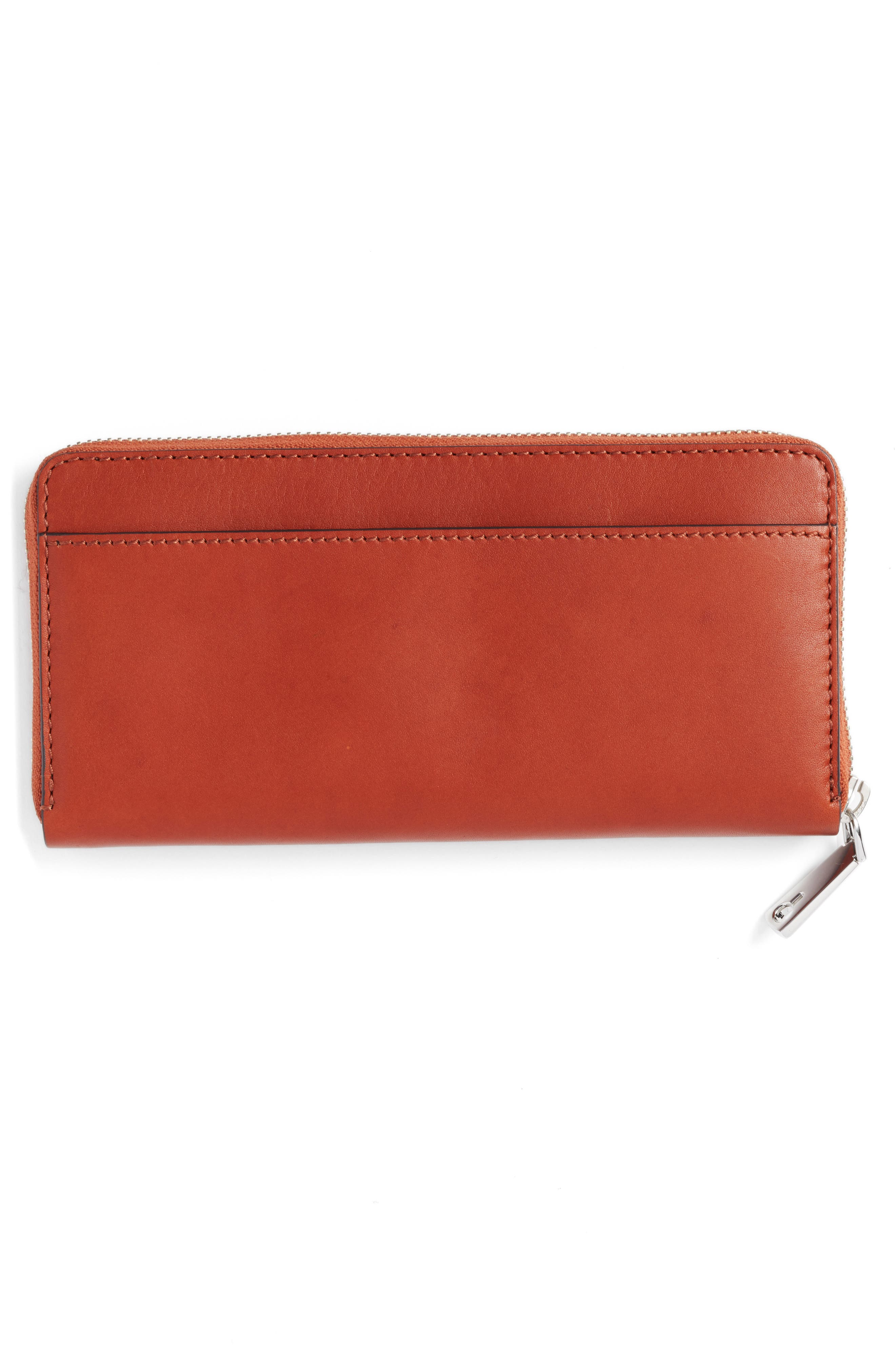 Continental Zip Wallet,                             Alternate thumbnail 6, color,