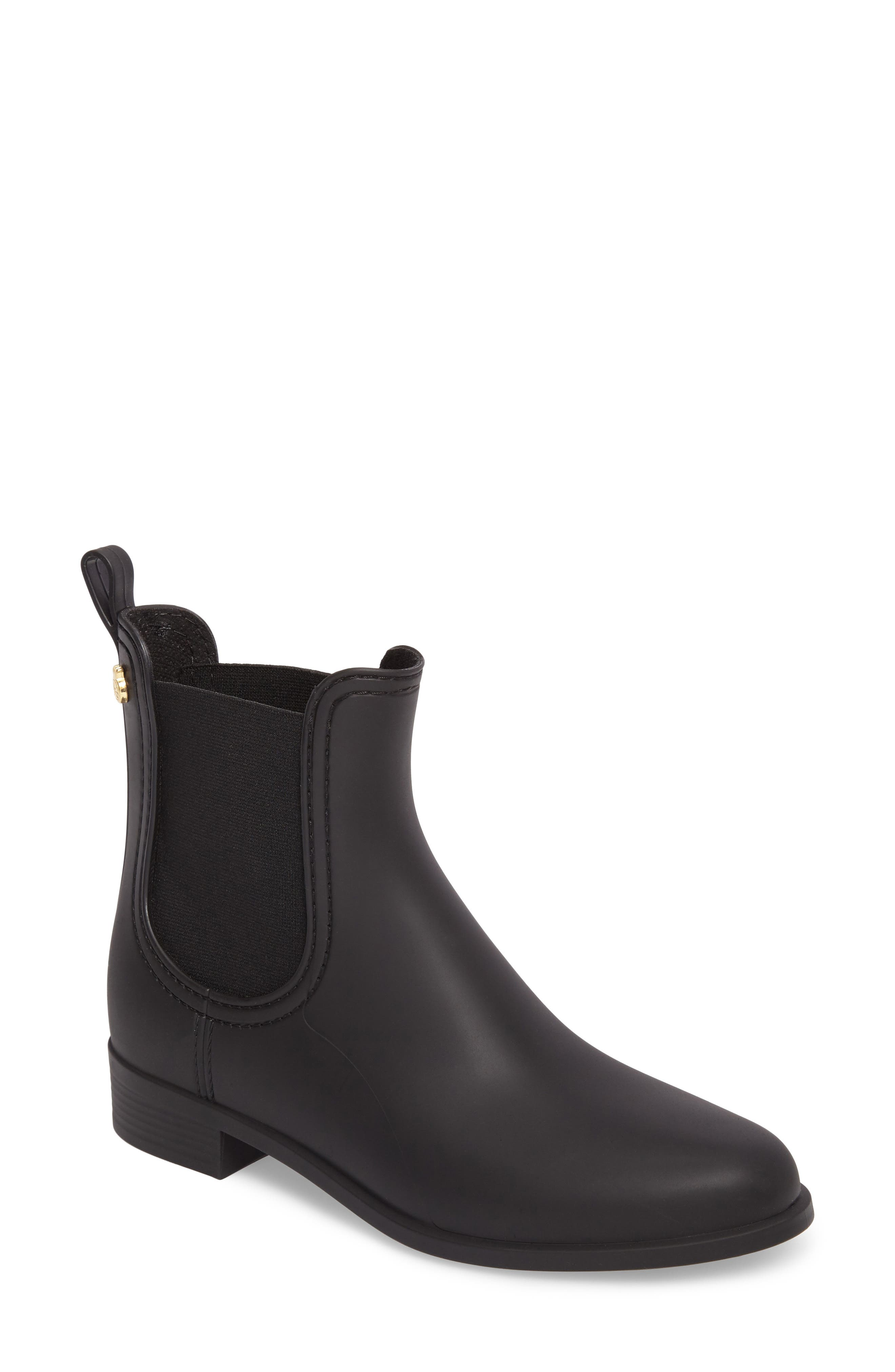 Splash Waterproof Chelsea Boot,                             Main thumbnail 1, color,                             002