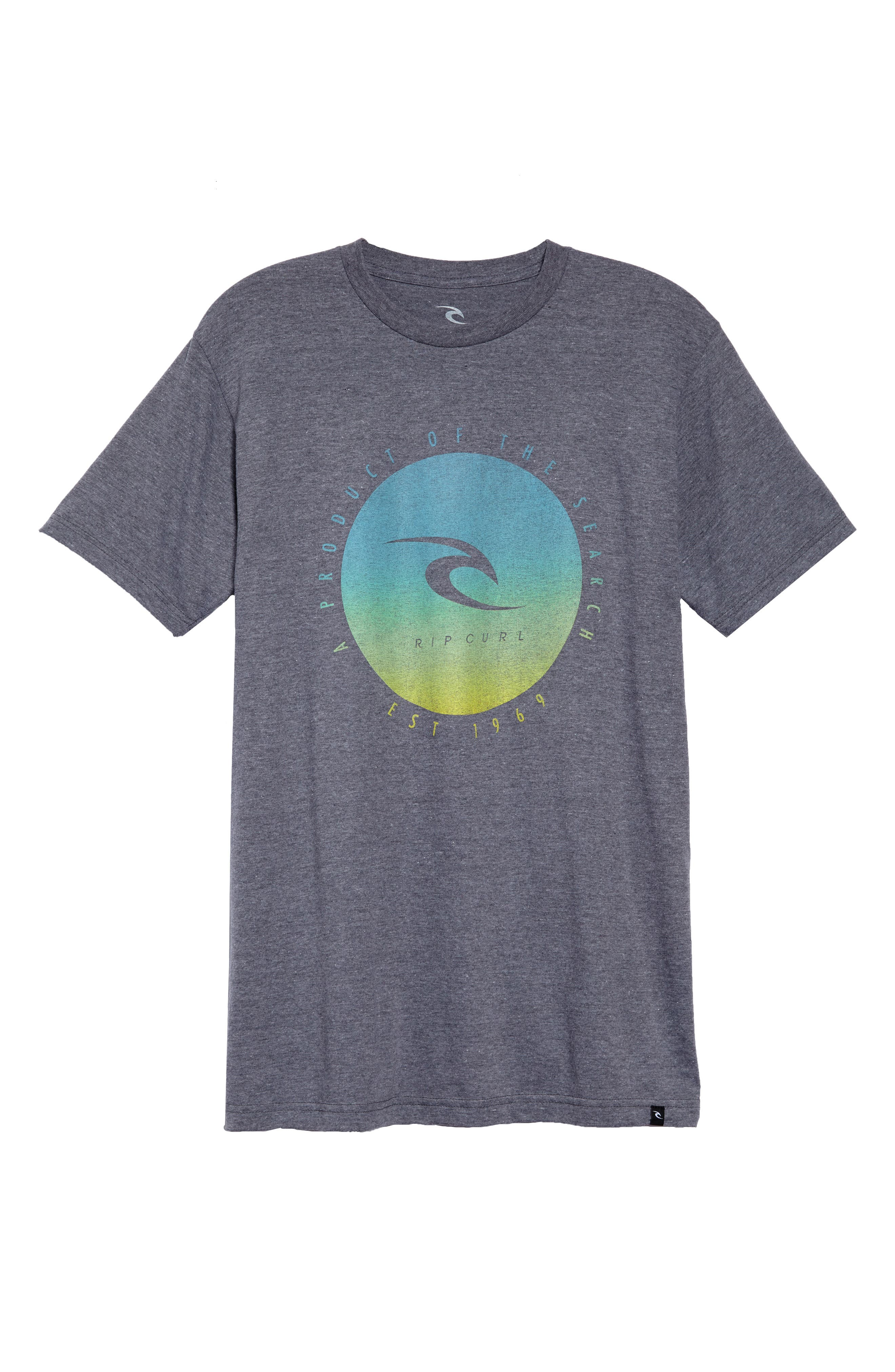 Cloud Break T-Shirt,                             Alternate thumbnail 6, color,                             080