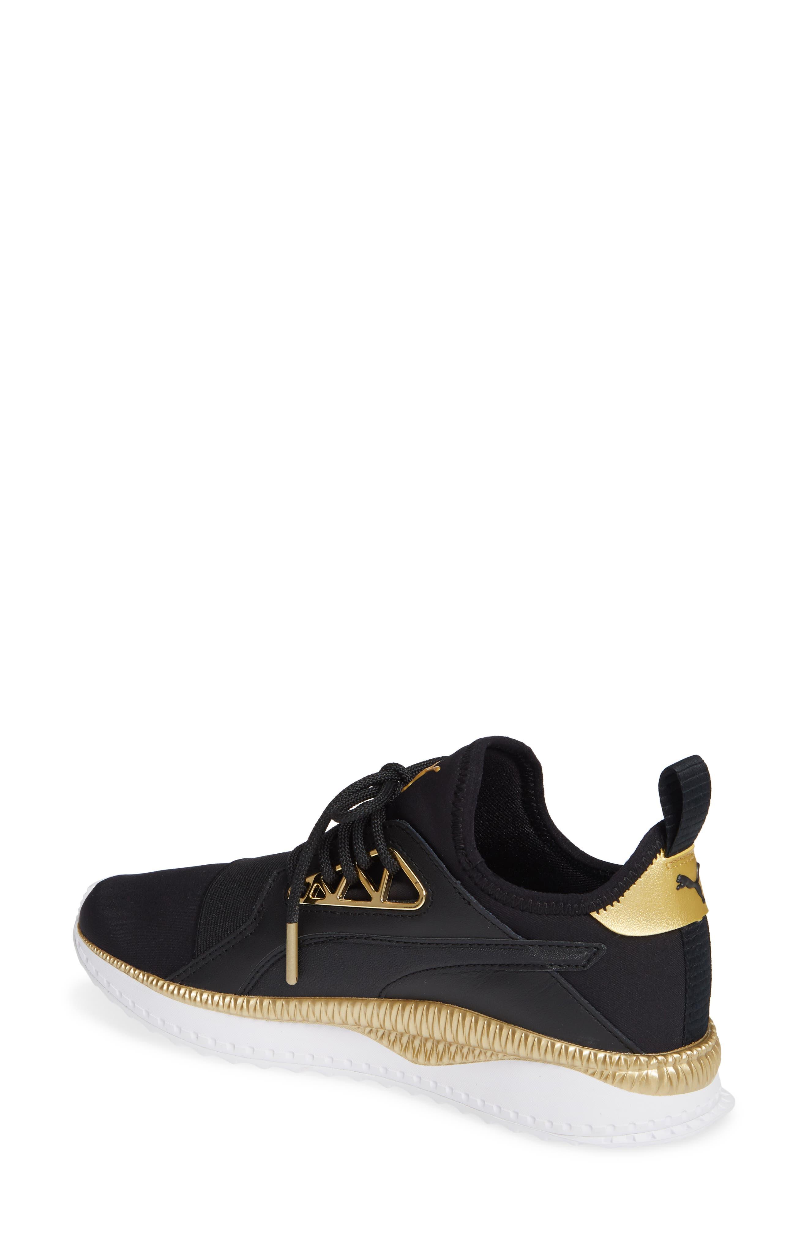 TSUGI Apex Jewel Sneaker,                             Alternate thumbnail 2, color,                             PUMA BLACK/ PUMA BLACK