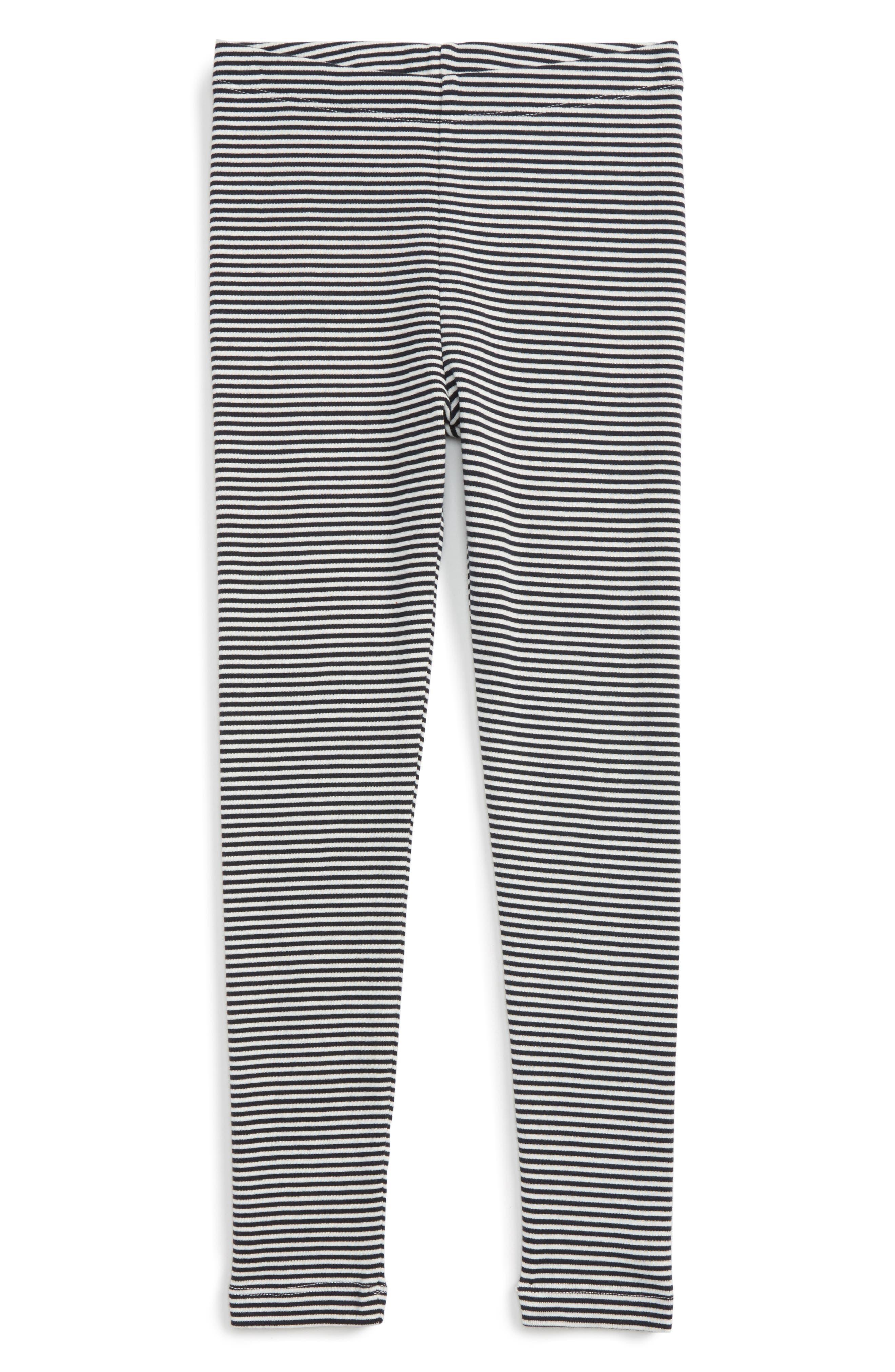 Stripe Cotton Leggings,                             Main thumbnail 2, color,