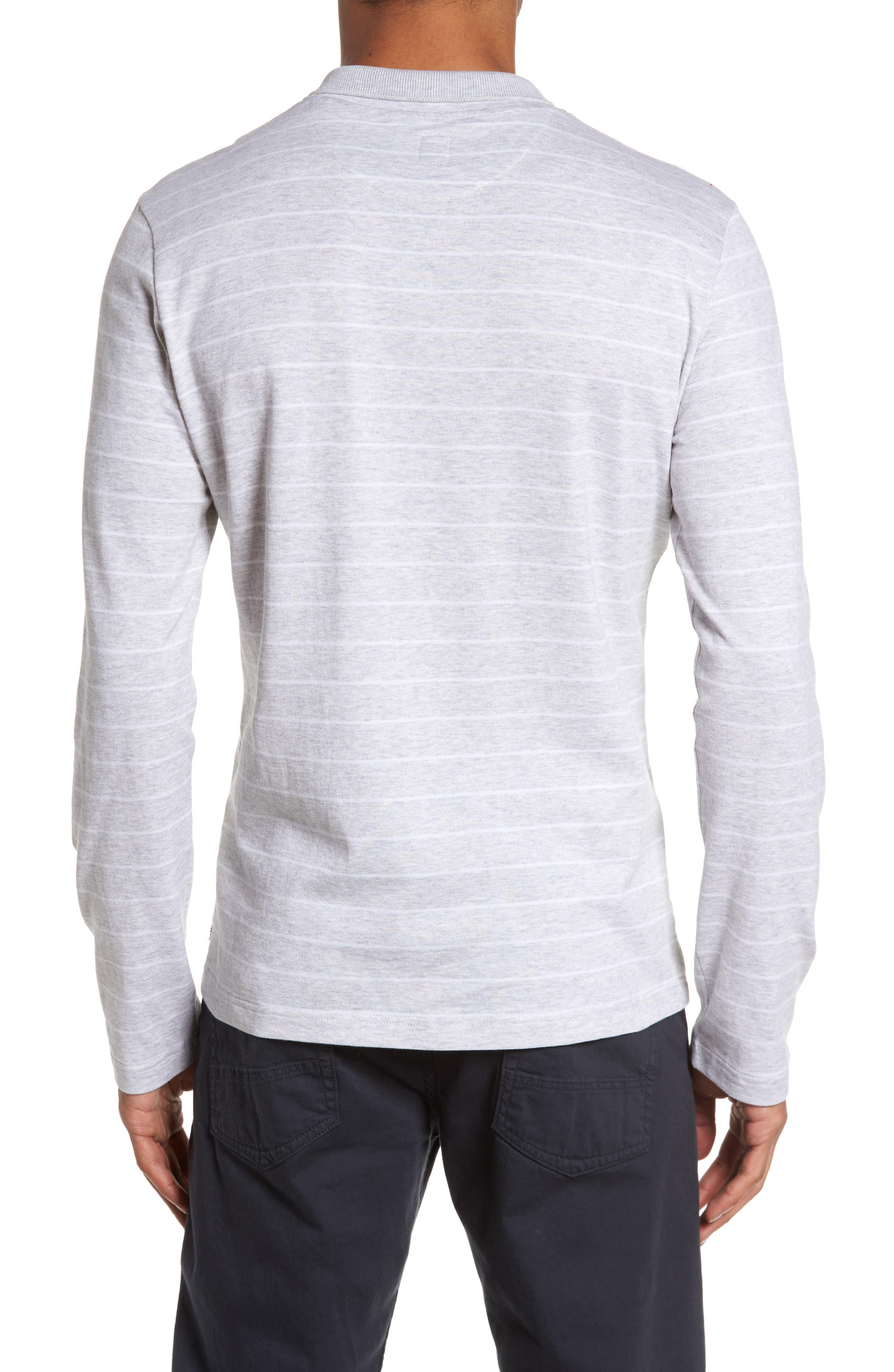 Stripe Crewneck Polo Shirt,                             Alternate thumbnail 2, color,                             020