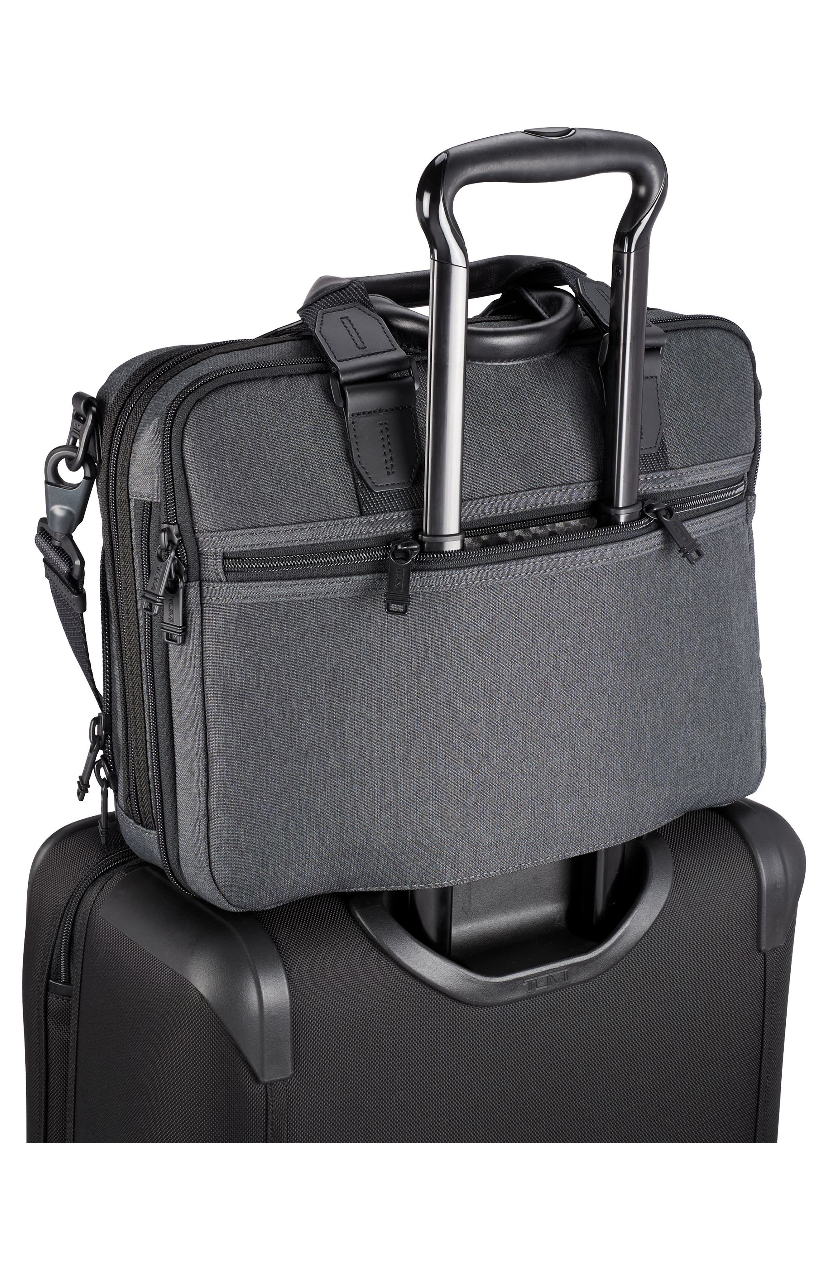 Albany - Slim Commuter Briefcase,                             Alternate thumbnail 2, color,                             ANTHRACITE