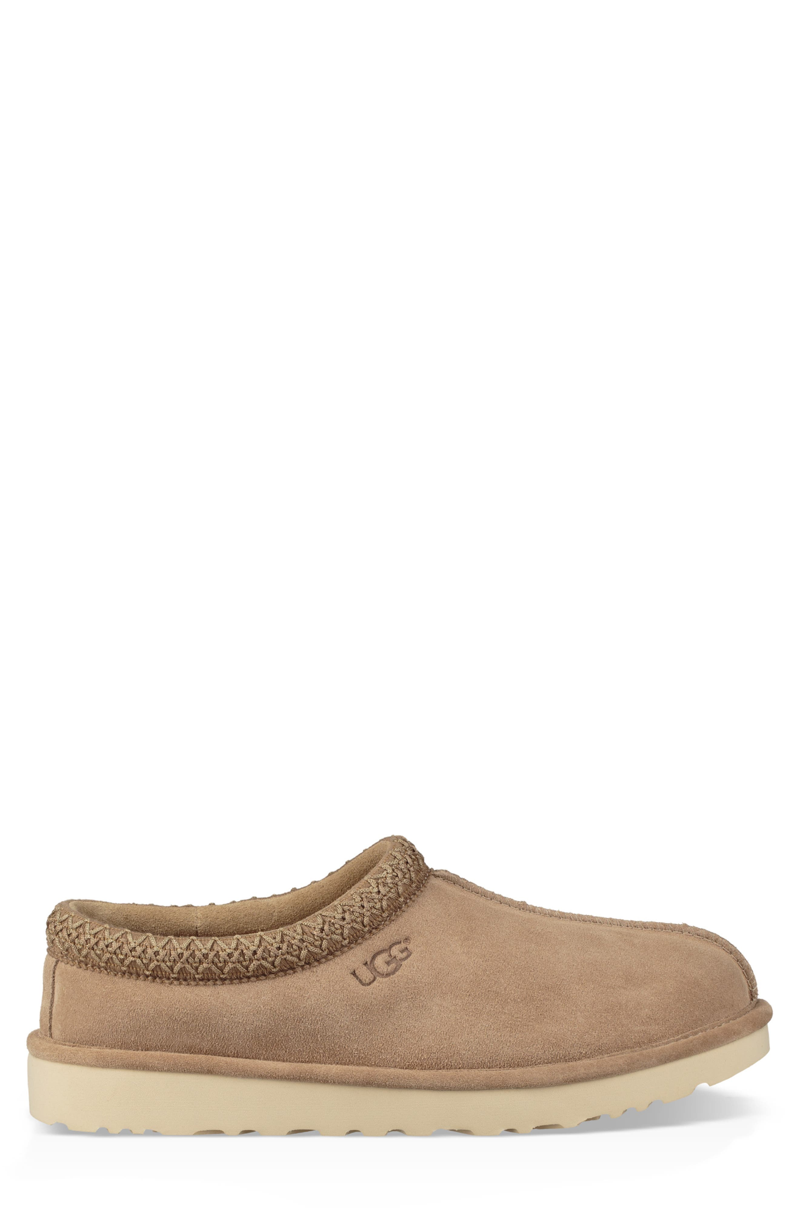 Tasman Pinnacle Indoor/Outdoor Horween Slipper,                             Alternate thumbnail 3, color,                             BEIGE