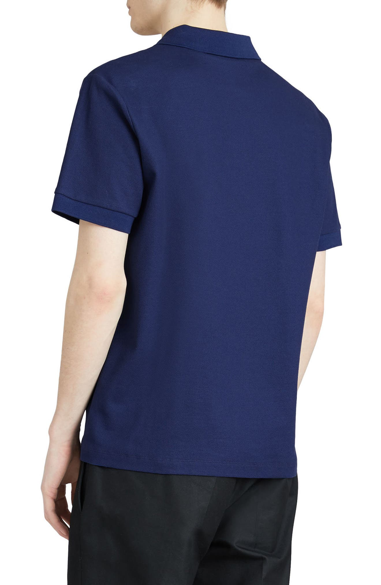 Burnton Multi Logo Polo,                             Alternate thumbnail 3, color,                             BRIGHT INDIGO