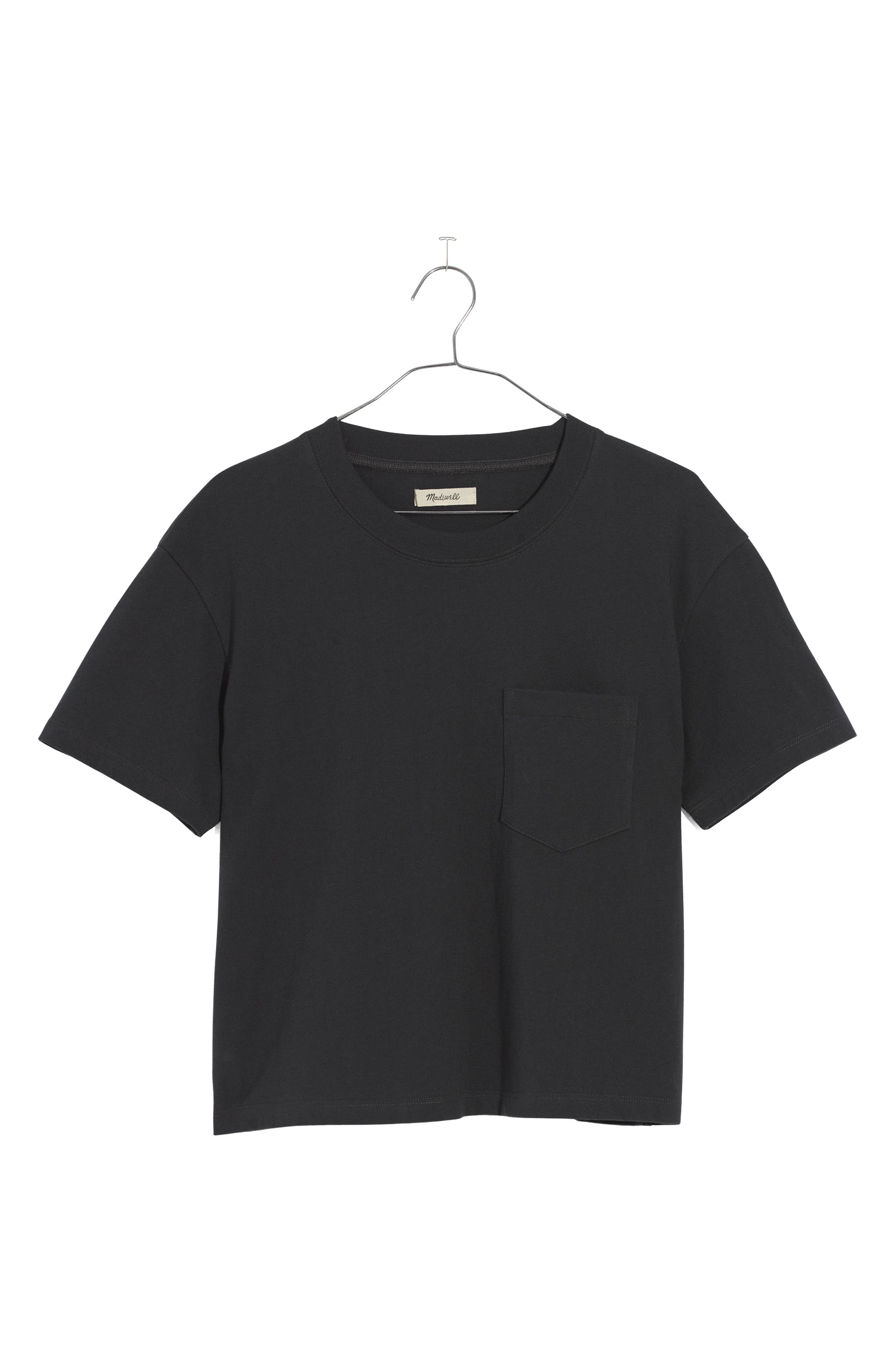Easy Crop Tee,                             Main thumbnail 1, color,                             001