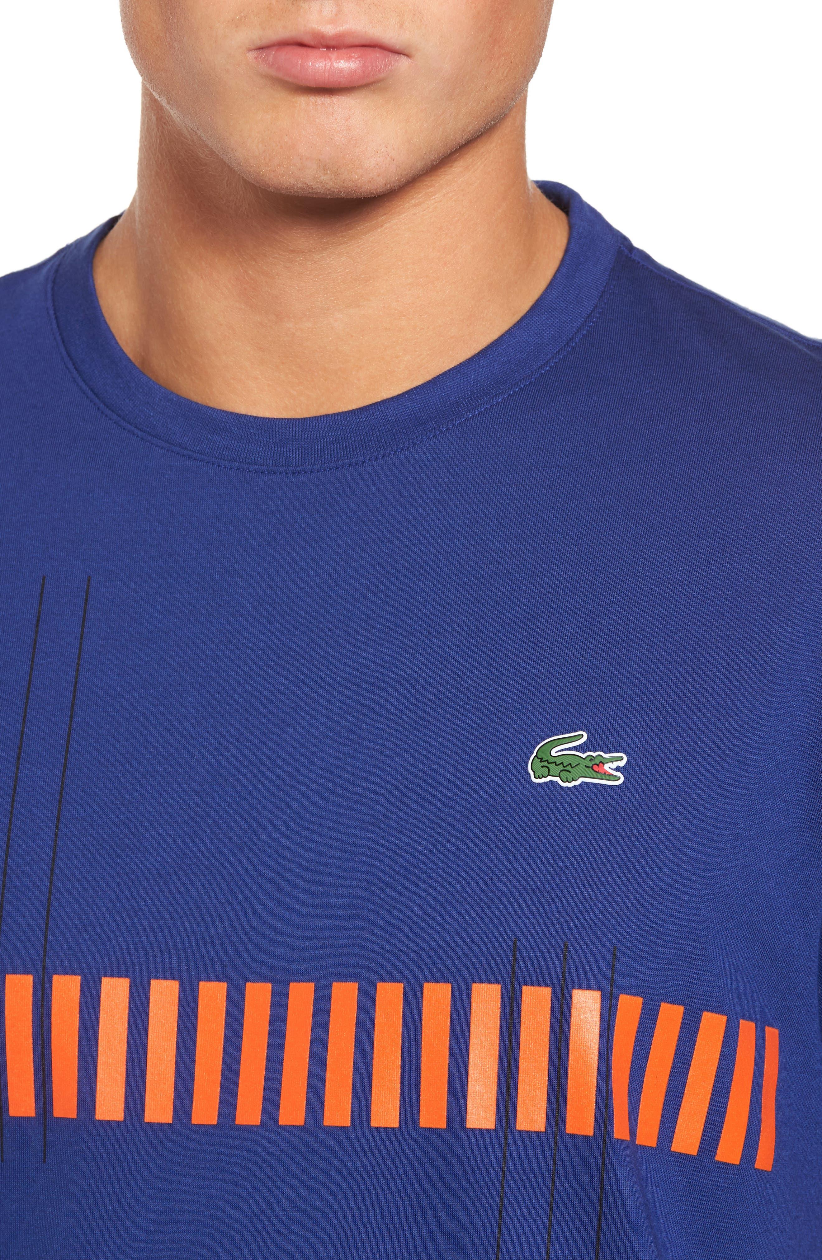 Tech Vertical Stripe Graphic T-Shirt,                             Alternate thumbnail 12, color,