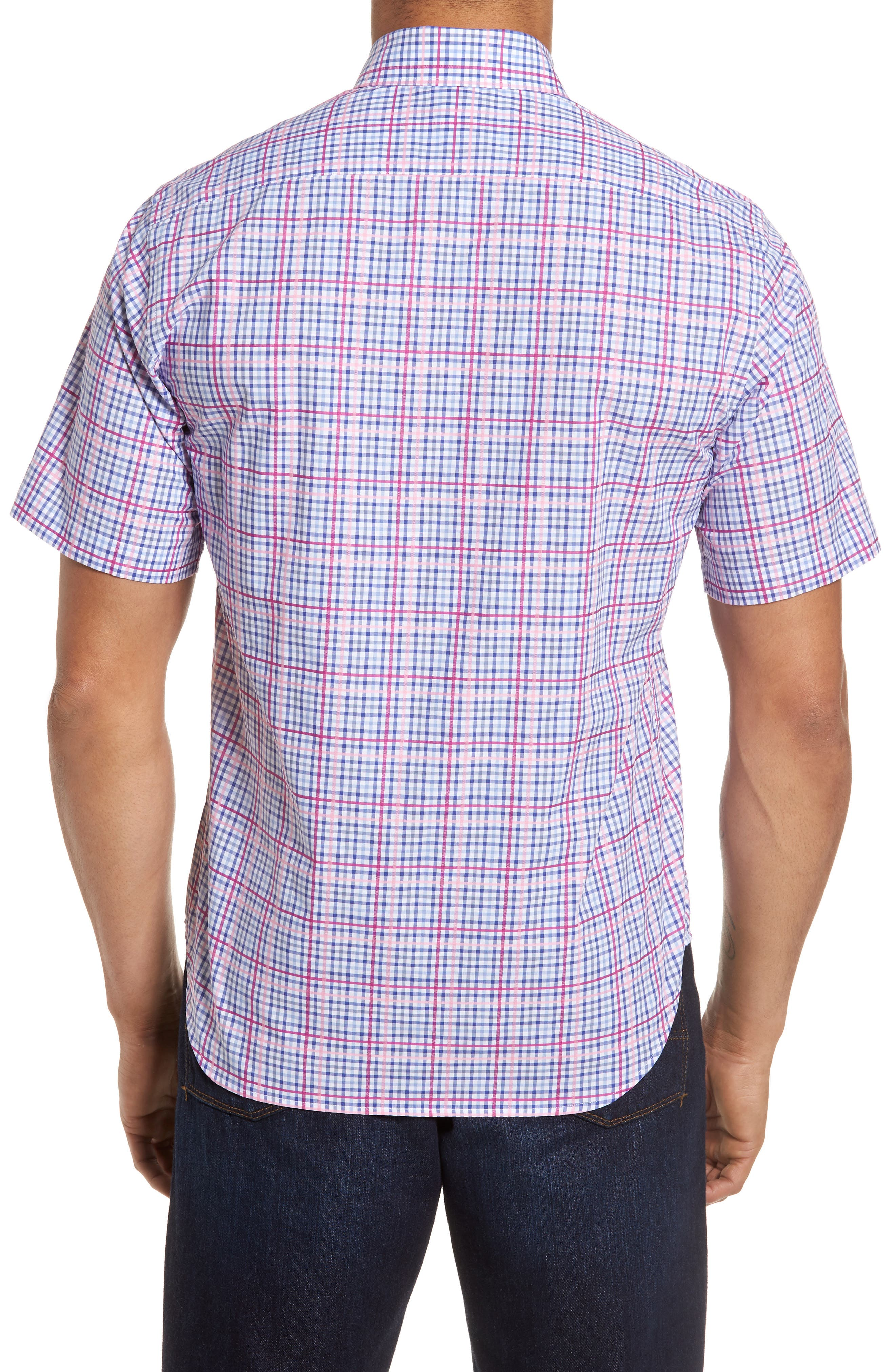 Ale Regular Fit Check Sport Shirt,                             Alternate thumbnail 2, color,                             650