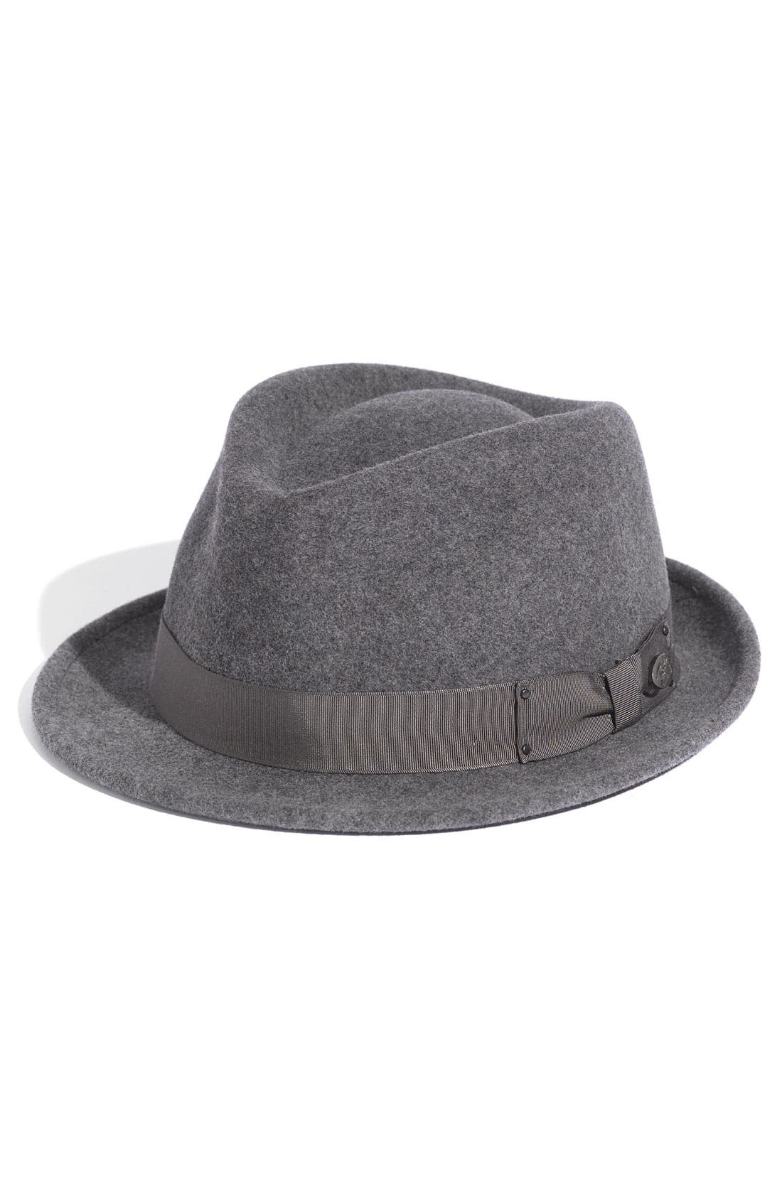 'Wynn' Packable Fedora,                             Main thumbnail 2, color,