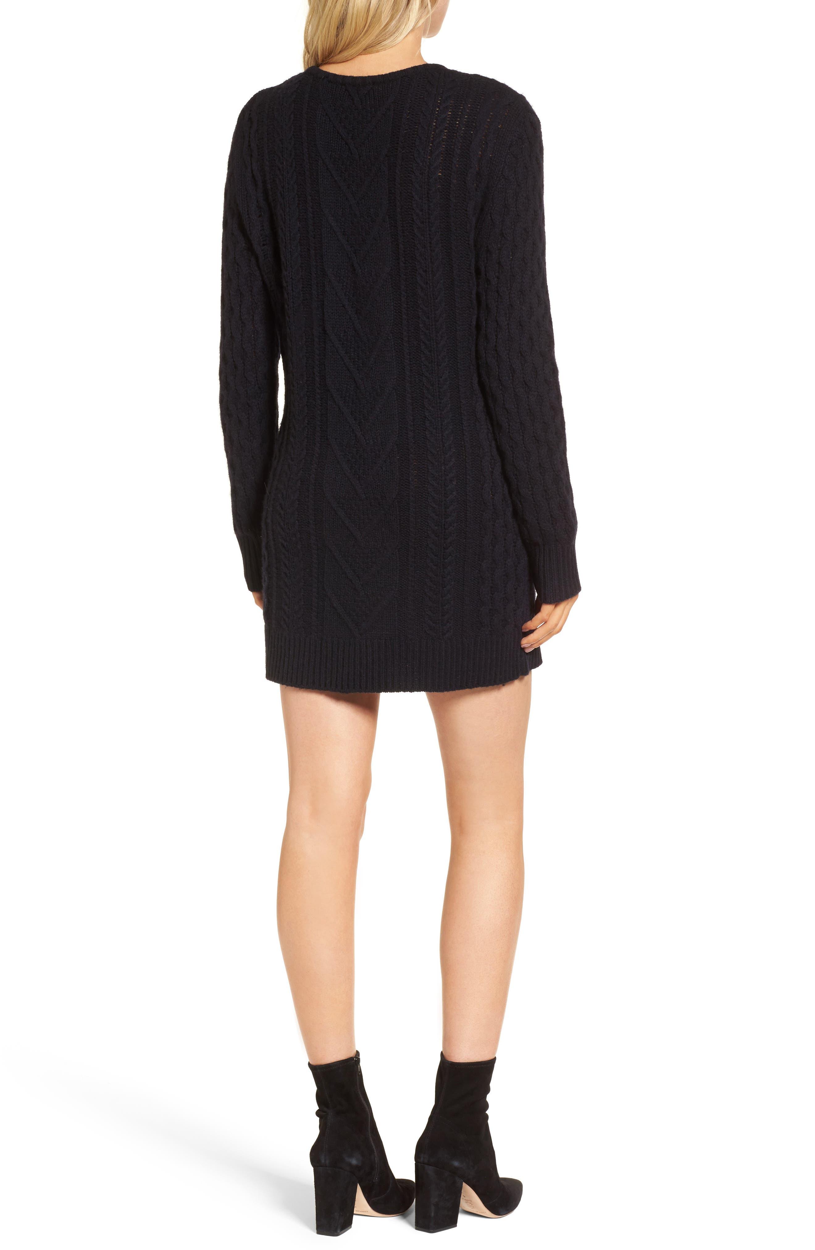 Jesse Sweater Minidress,                             Alternate thumbnail 2, color,                             400