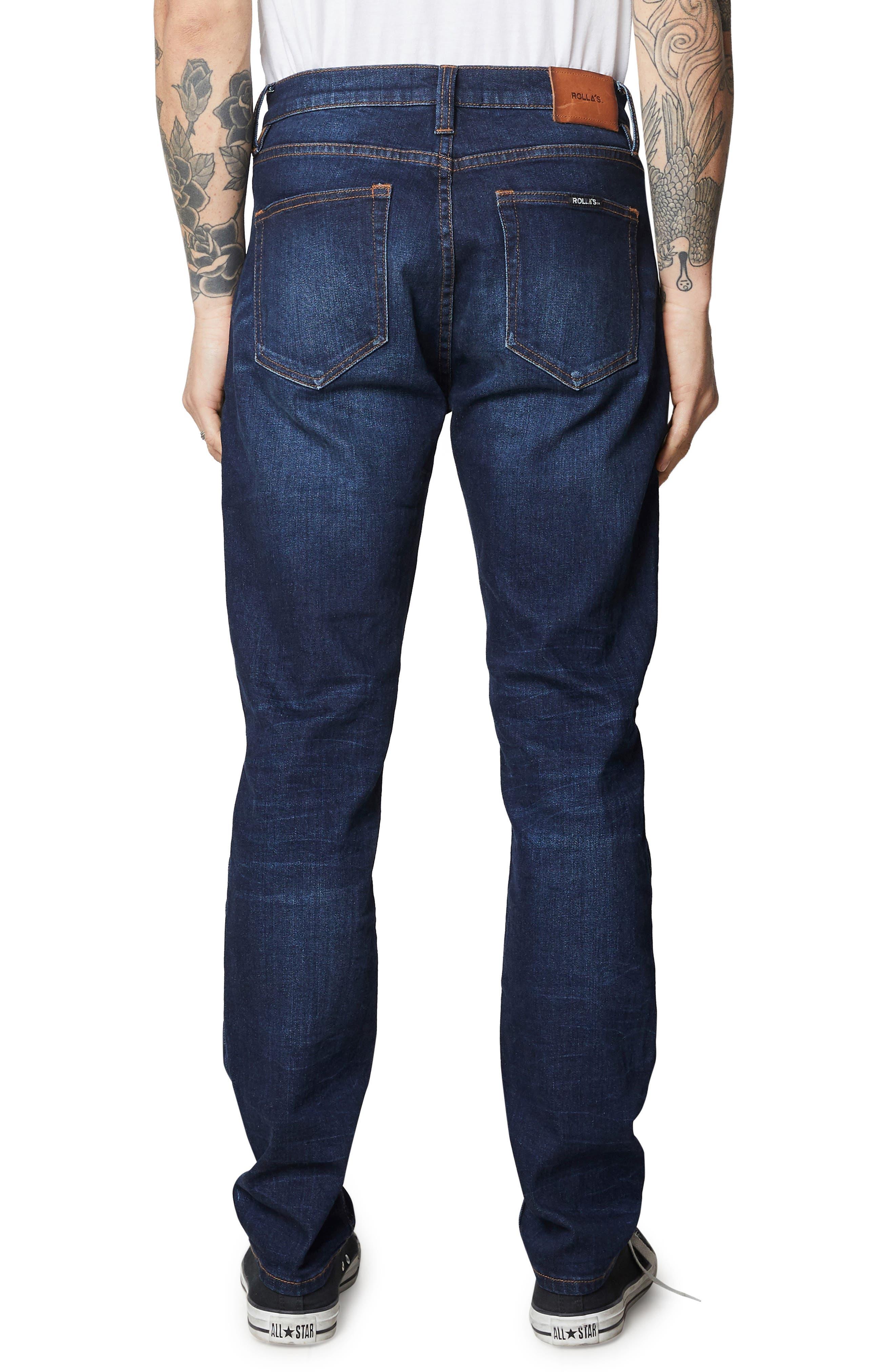 ROLLA'S,                             Tim Slims Slim Fit Jeans,                             Alternate thumbnail 2, color,                             406