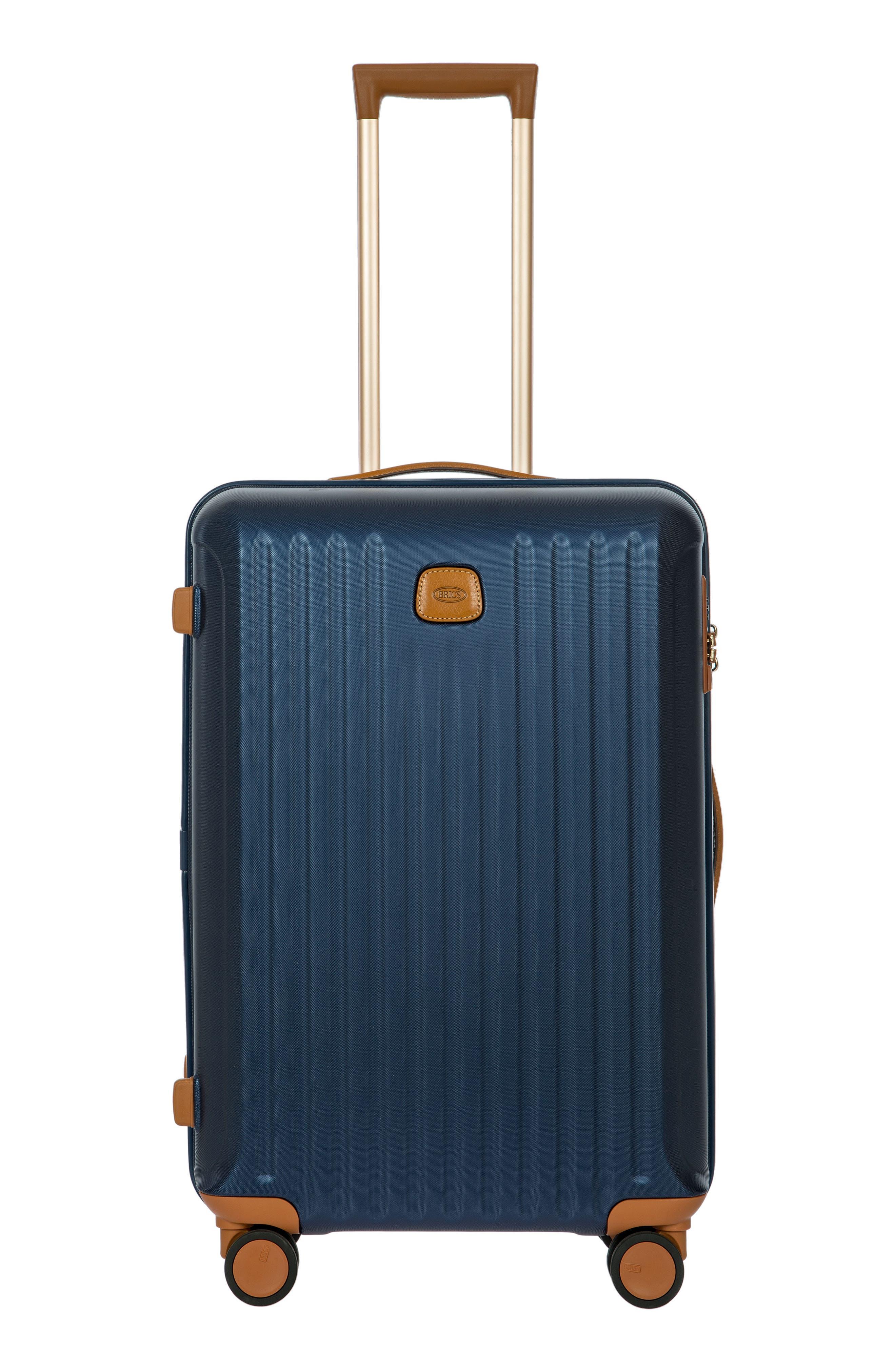 Capri 27-Inch Rolling Suitcase - Blue in Matte Blue