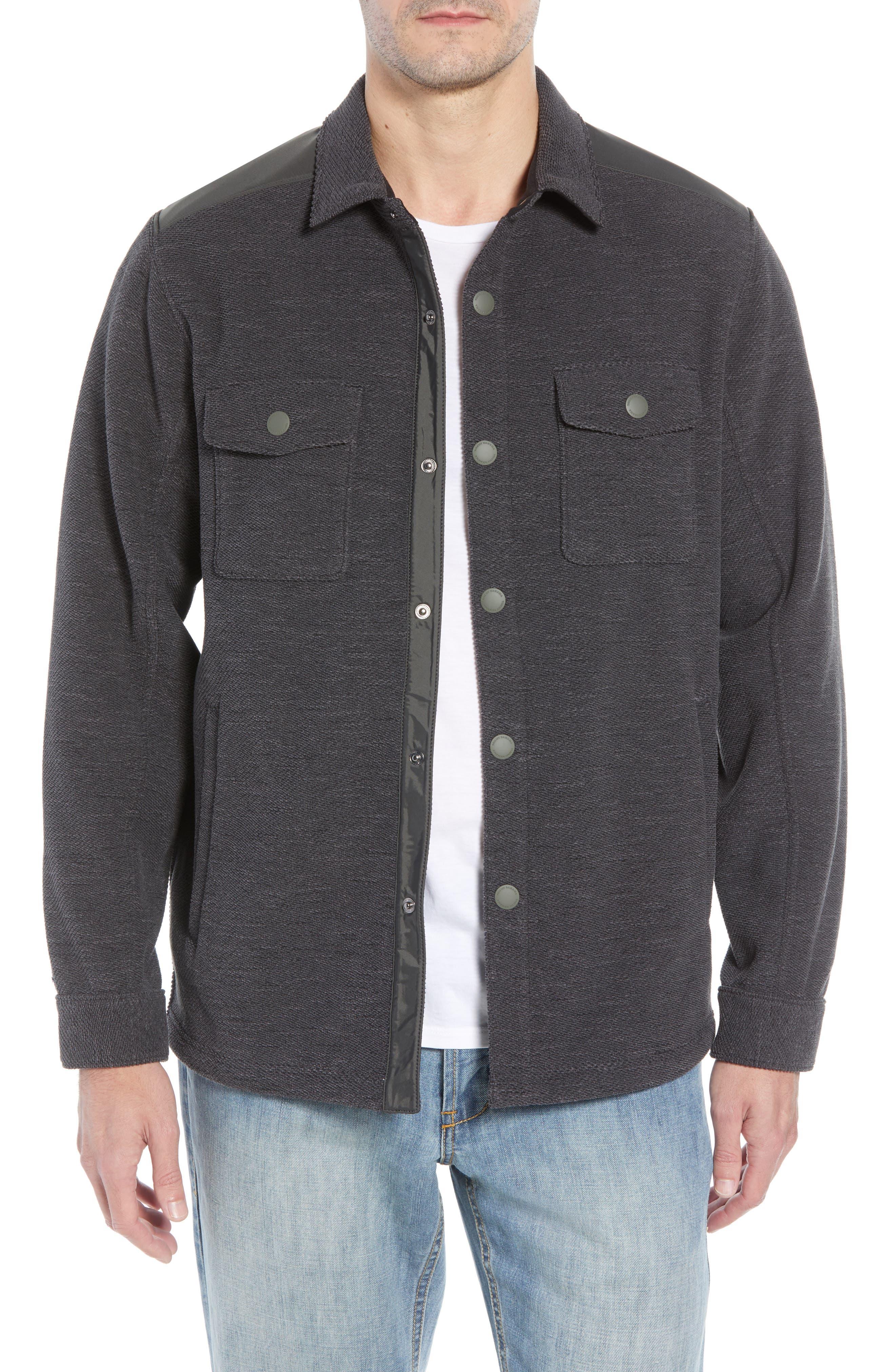 San Pablo CPO Regular Fit Jacket,                             Main thumbnail 1, color,                             FOG GREY