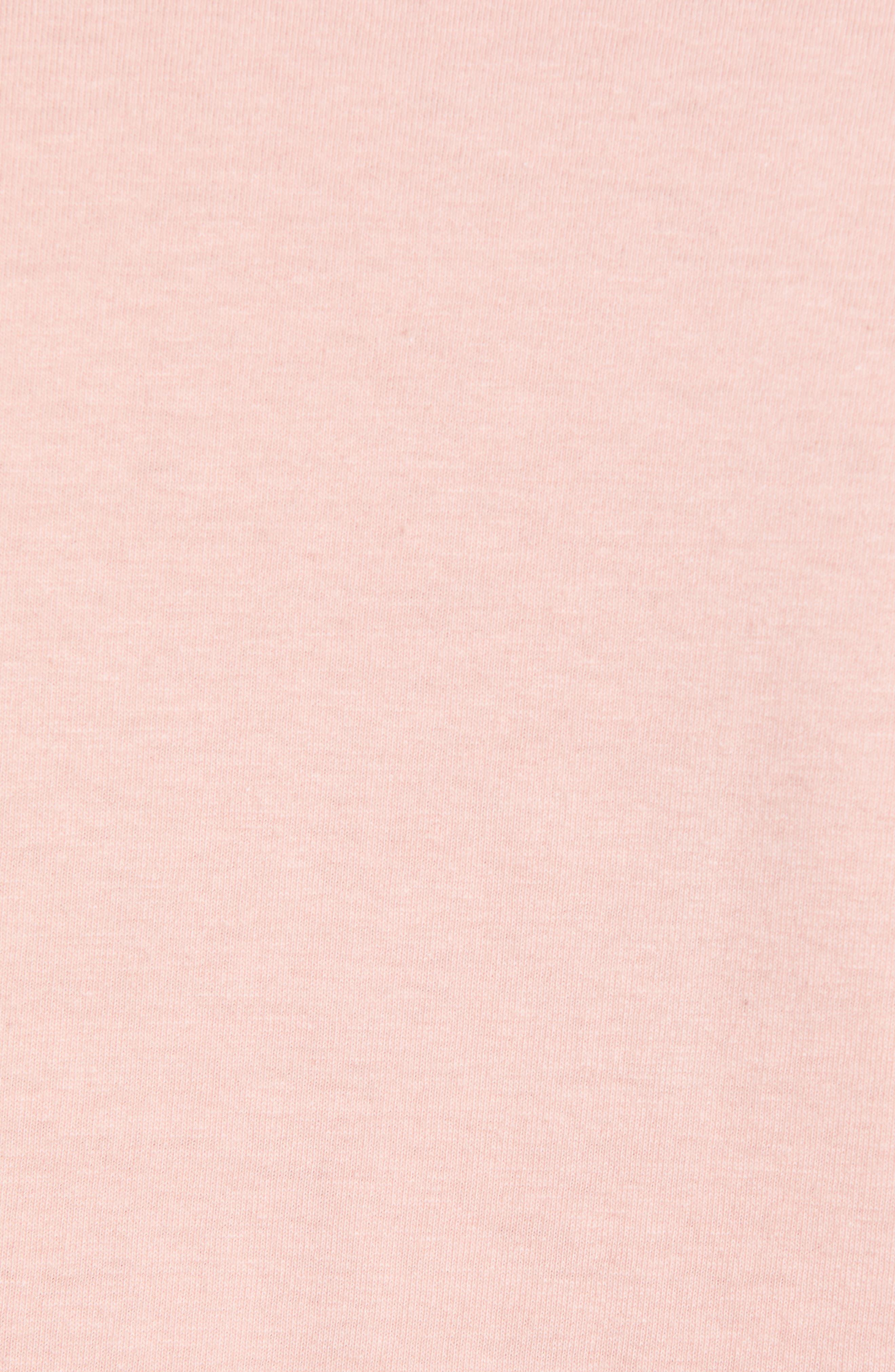 Long Sleeve Side Tie Tee,                             Alternate thumbnail 5, color,                             660