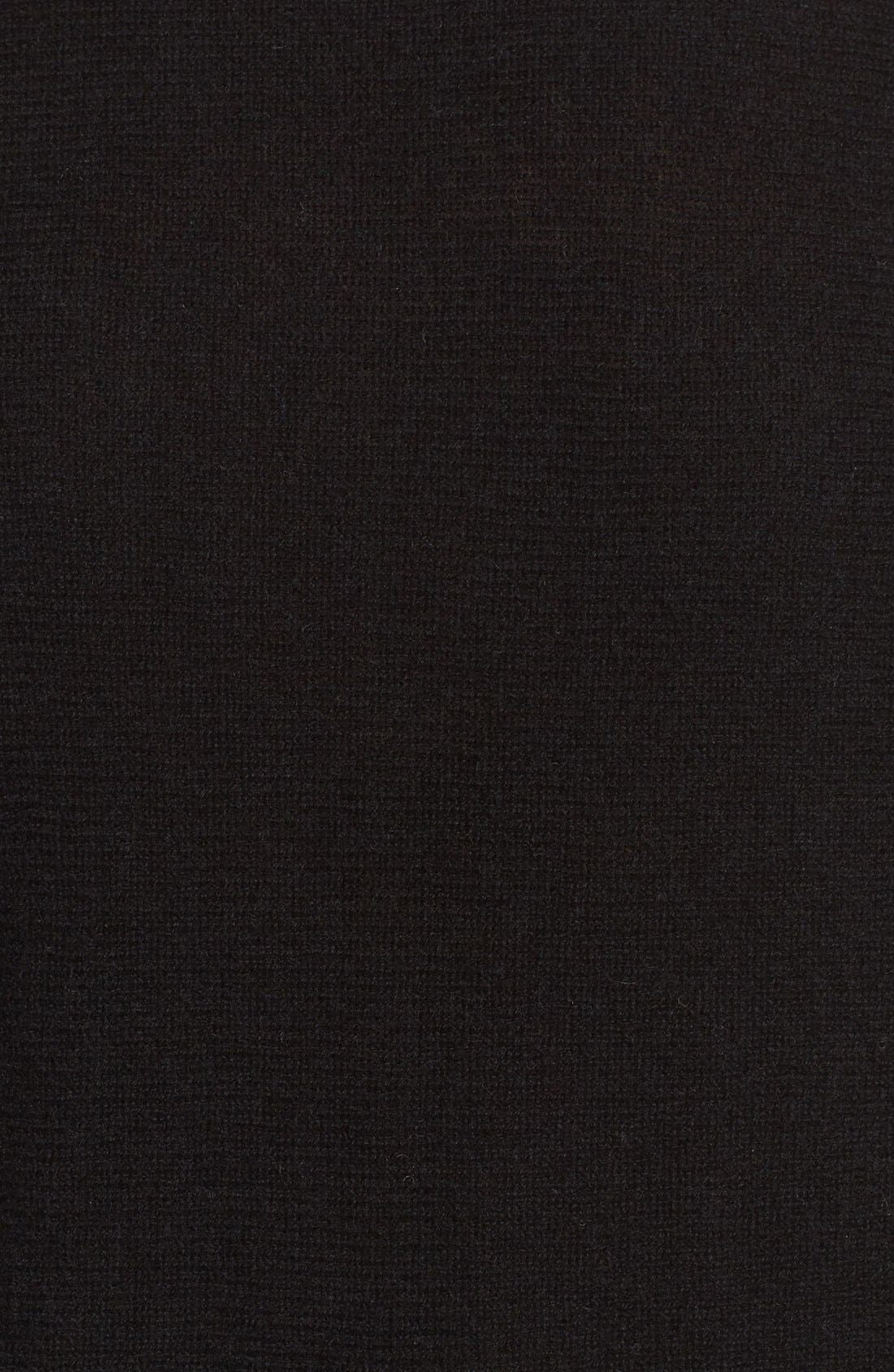 High/Low Wool & Cashmere Tunic Sweater,                             Alternate thumbnail 115, color,