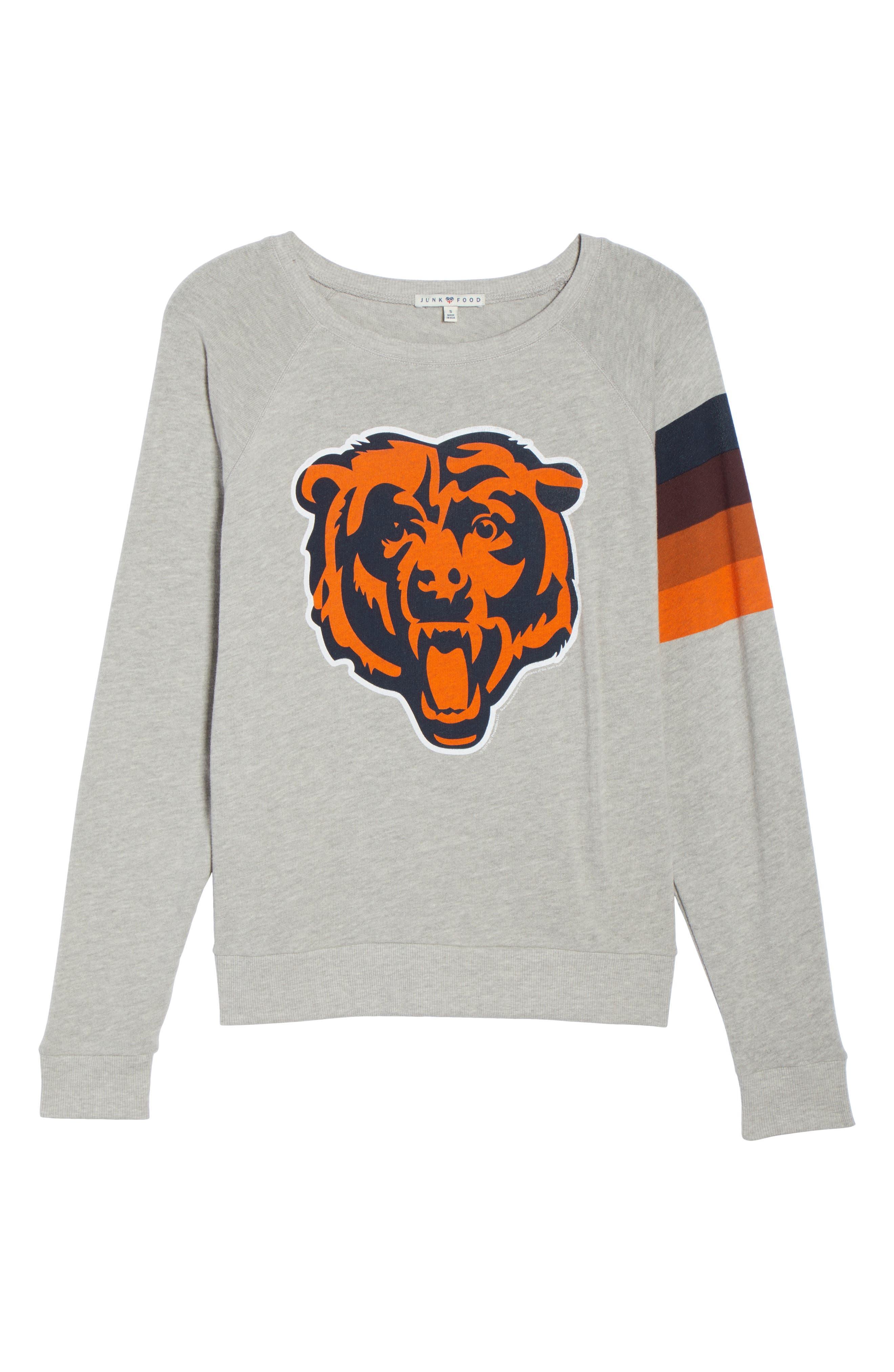 NFL Chicago Bears Hacci Sweatshirt,                             Alternate thumbnail 6, color,                             030